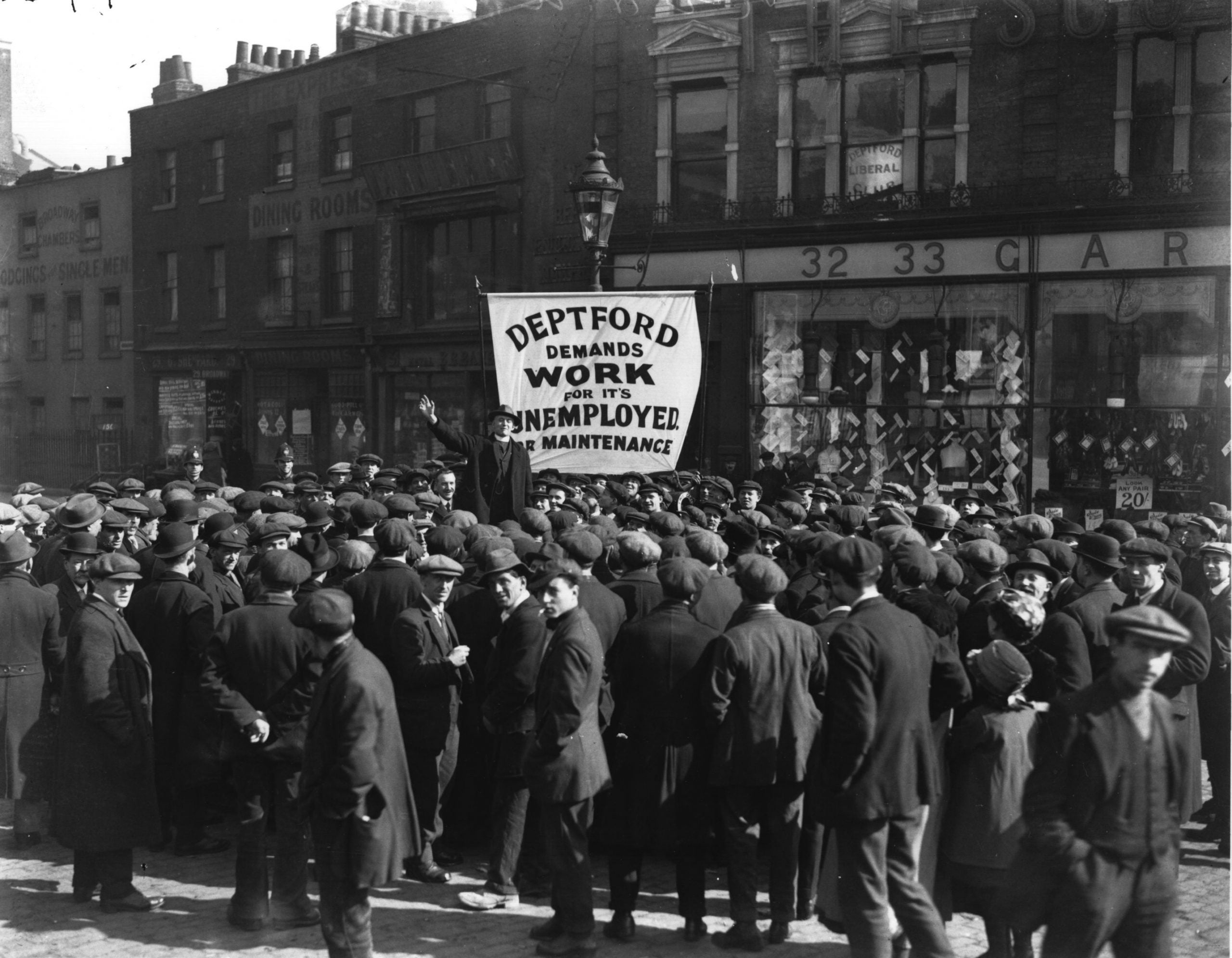 From the NS archive: Ahead of the Great Depression