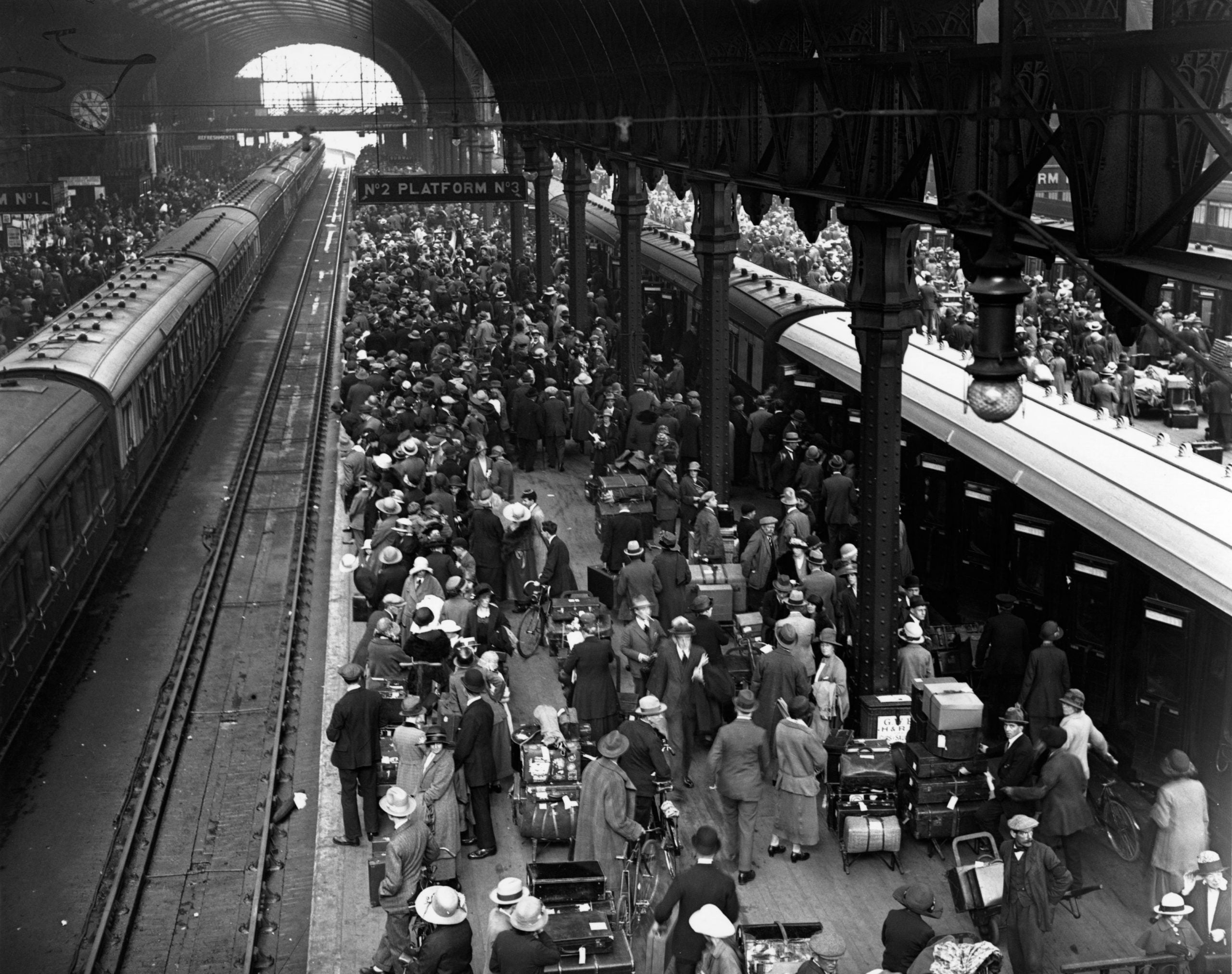 From the NS archive: Hilaire Belloc's guide to not talking on trains