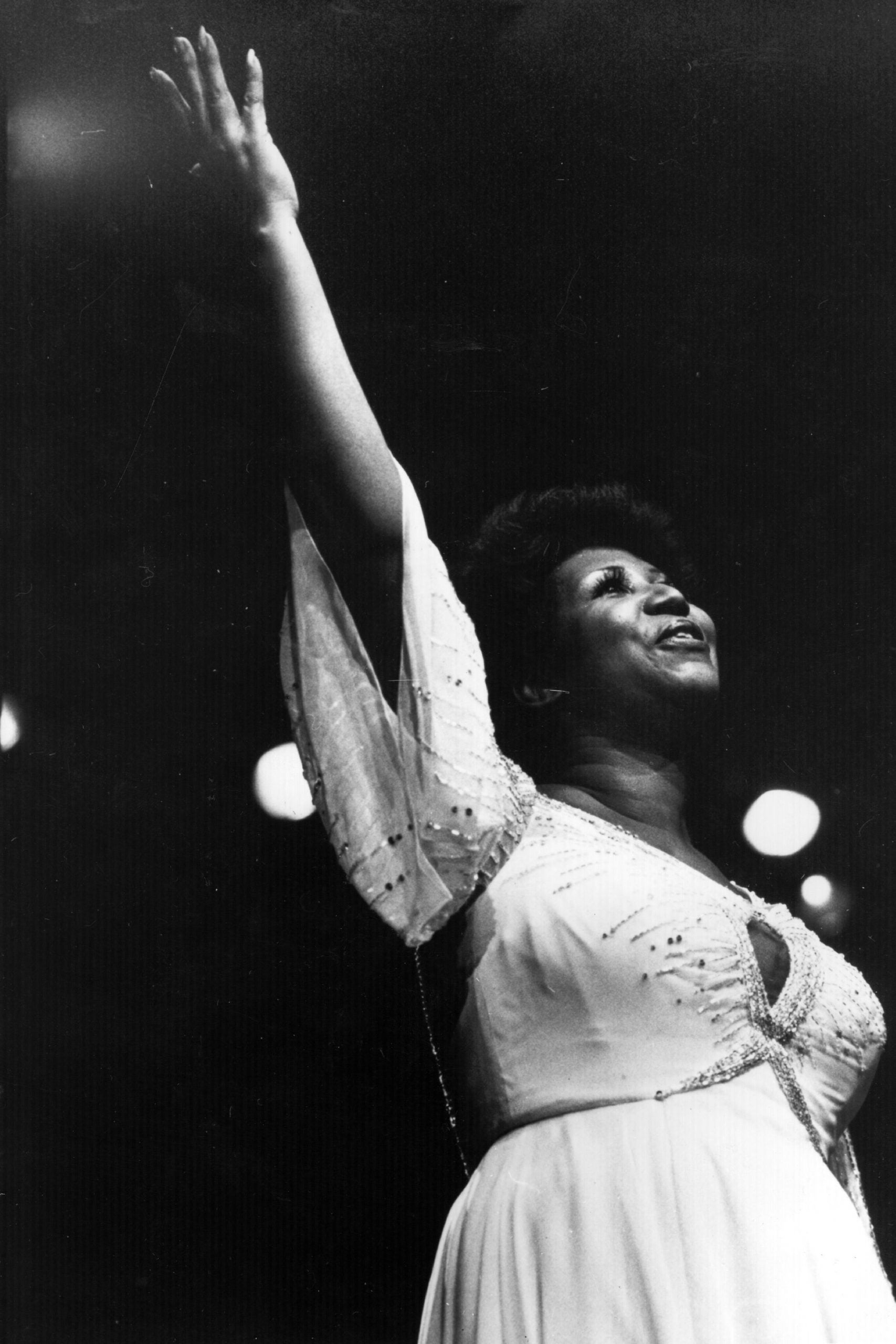 I went to church three times this week – and the final time, I watched Aretha Franklin fly