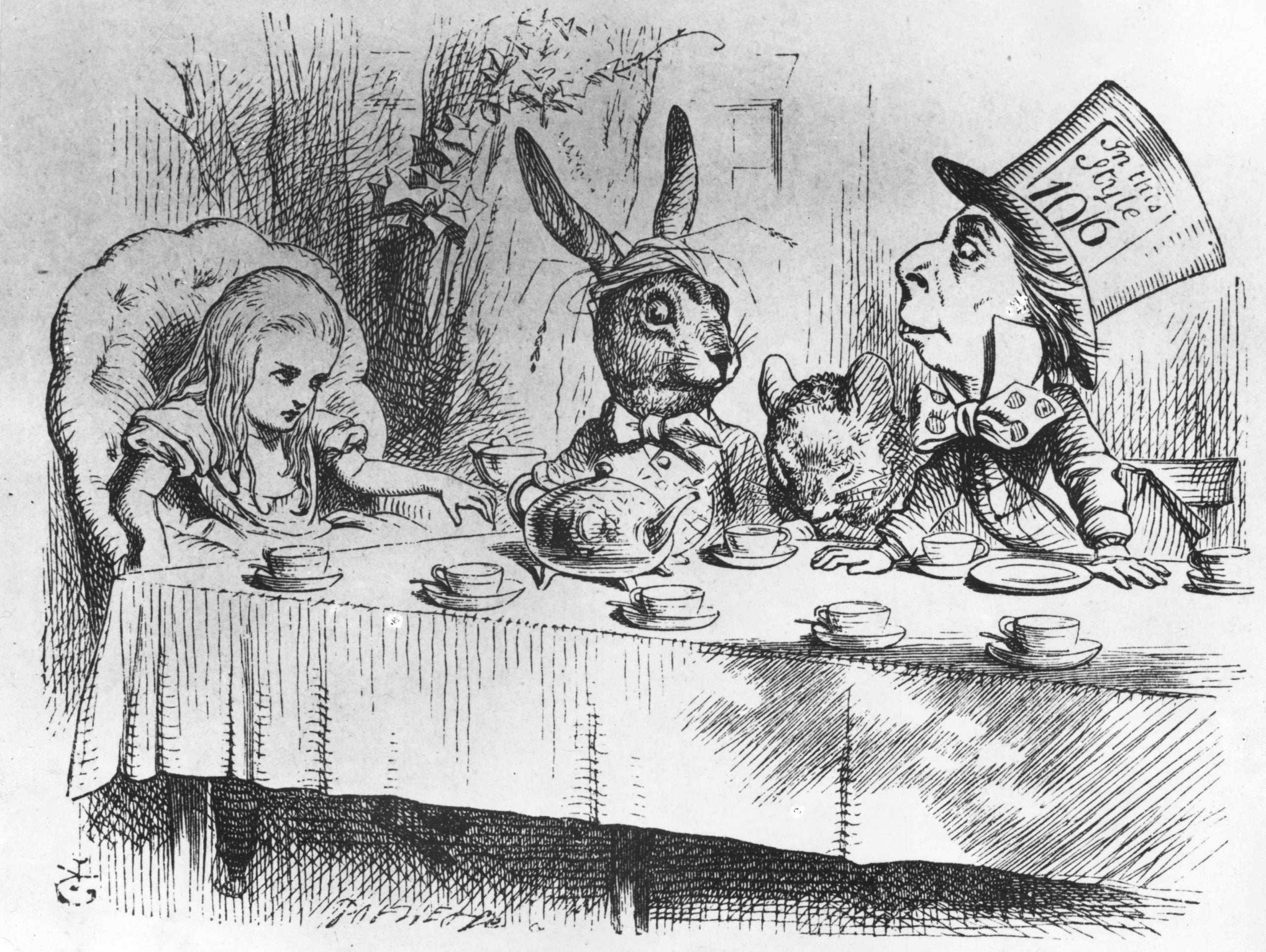 From the NS archive: The upside-down world of Lewis Carroll