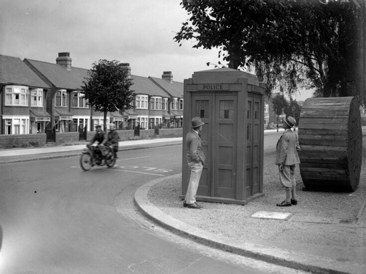 I may not own a Tardis but we all carry time machines in our heads