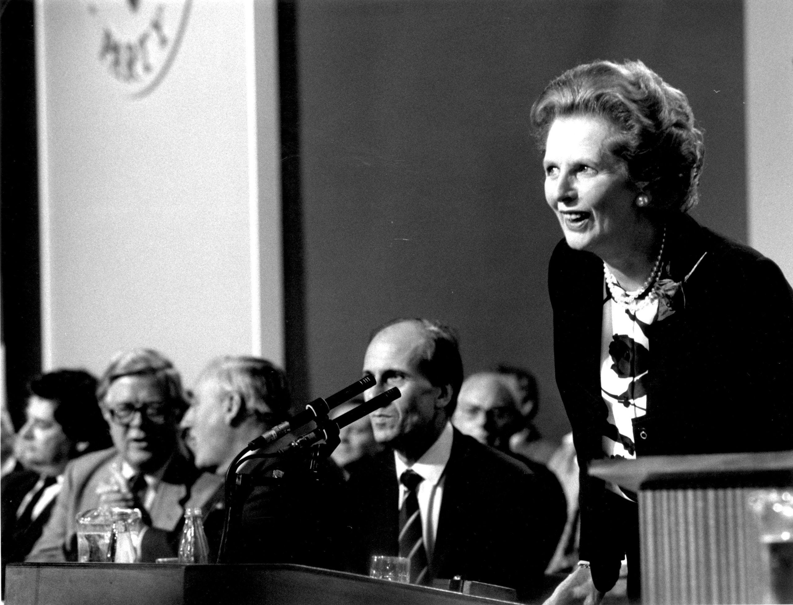 """Thatcher daintily manoeuvred over my sprawled form. """"All right there?"""" she said"""
