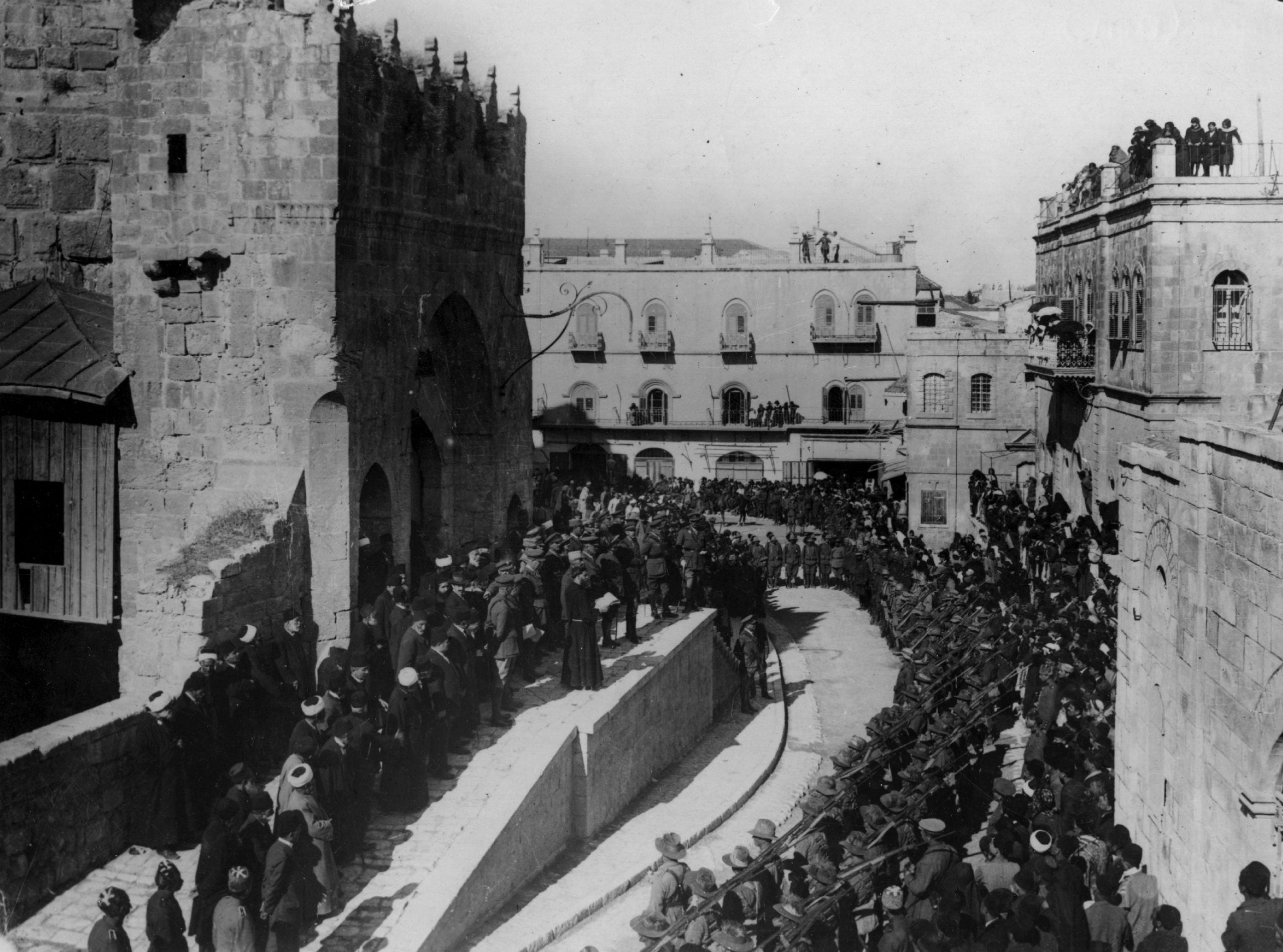 From the NS archive: The fight for Jerusalem