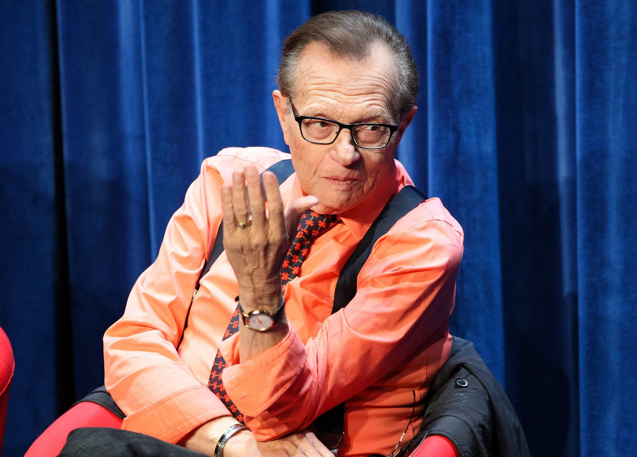 """""""I hate censorship"""": Larry King on his journey from prime time TV to Russia Today"""
