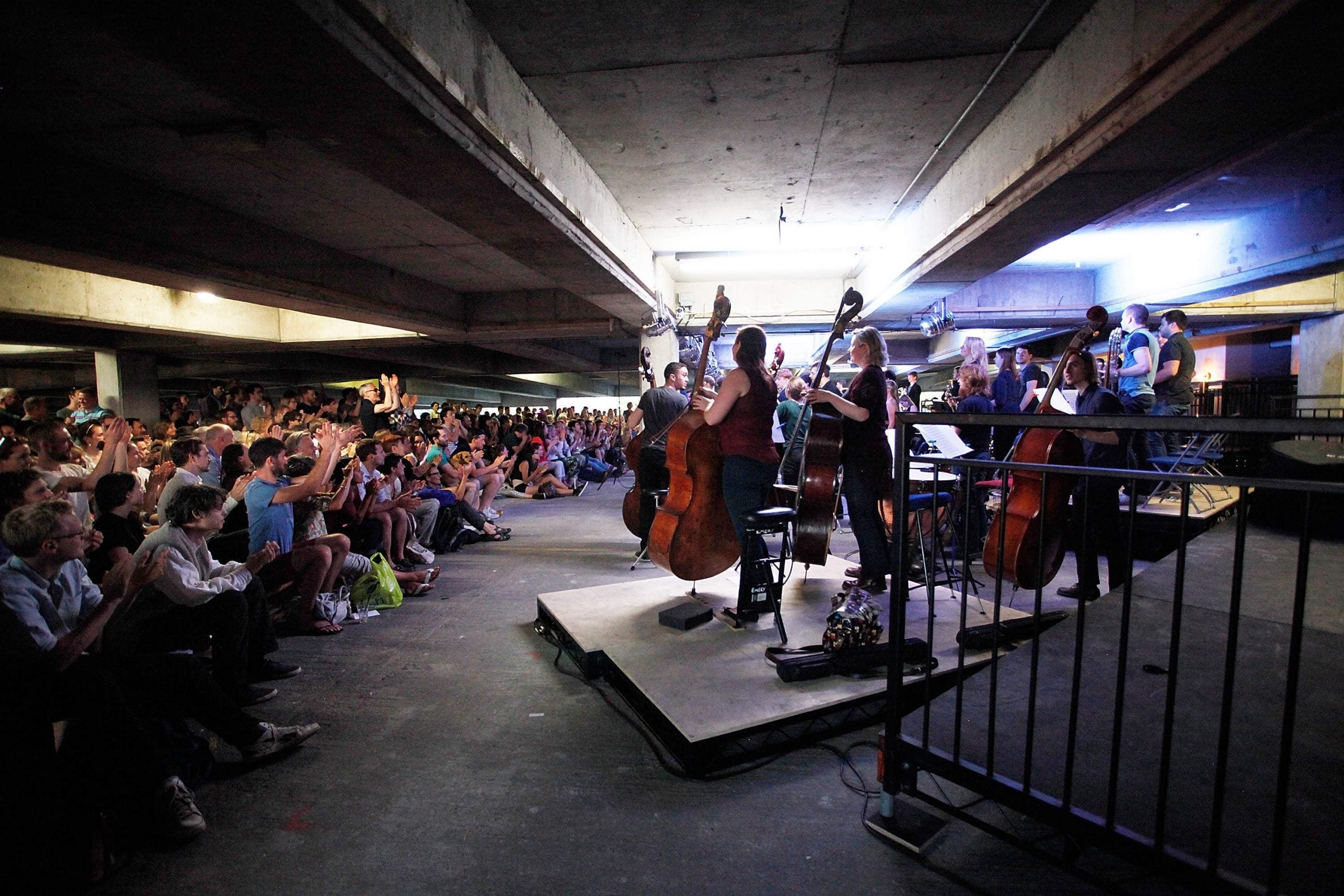 A concrete epiphany from the Multi-Story Orchestra