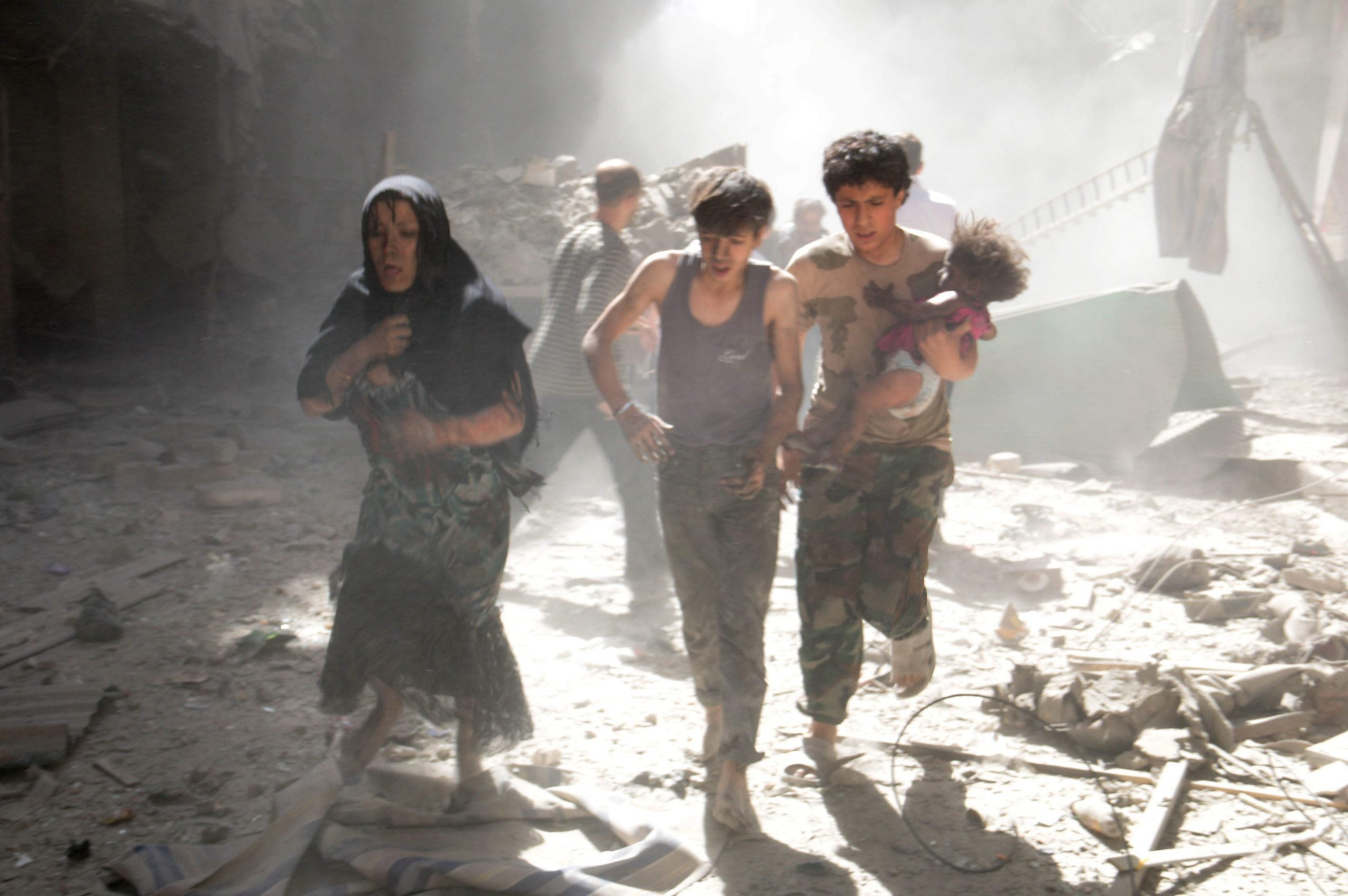 As Syrian forces lay waste to Aleppo, how much longer can we tolerate the slaughter?