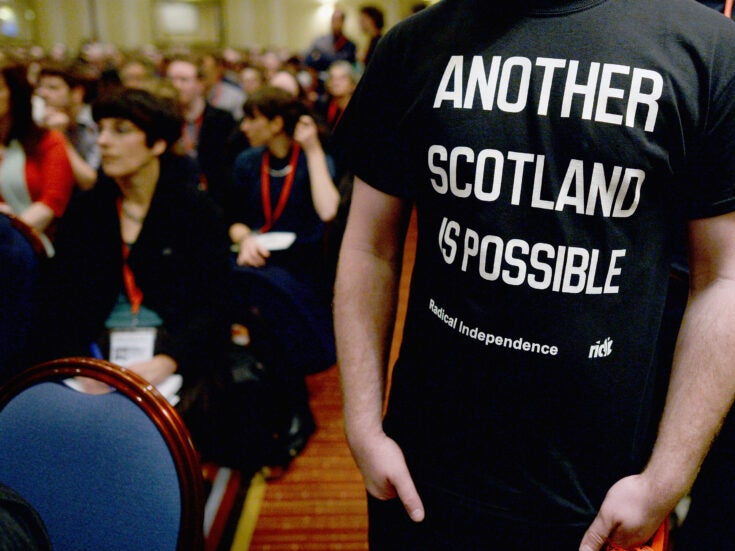 How direct action could force the UK left to confront the Scottish question