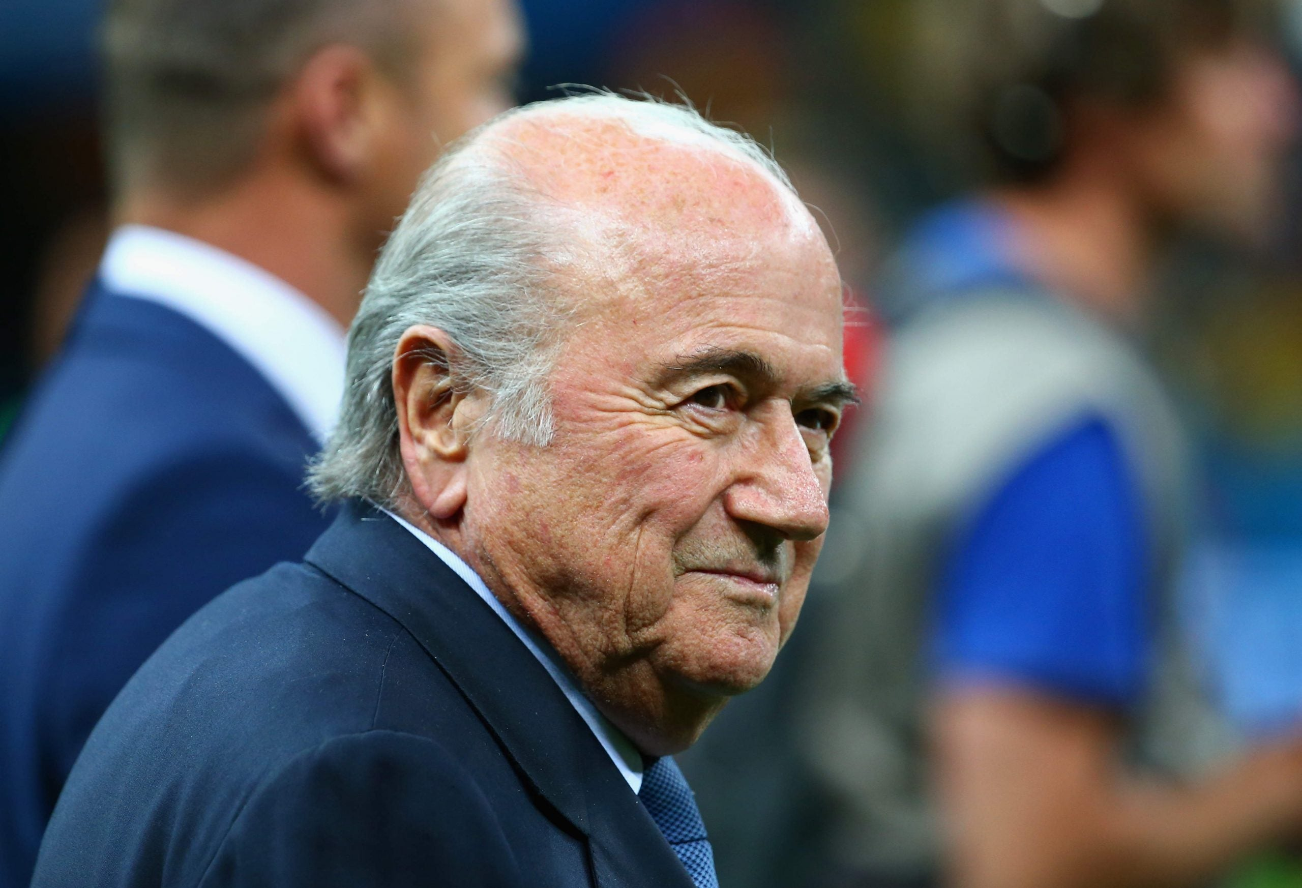 Sepp Blatter re-elected as Fifa president amid corruption allegations