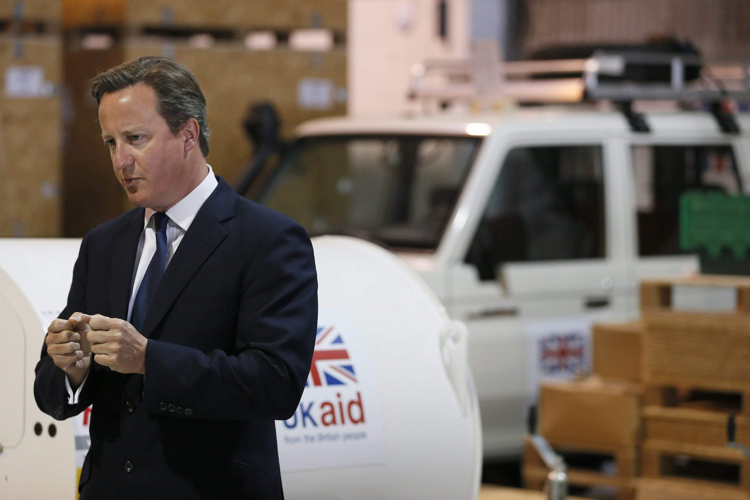 David Cameron and the art of the toe-touch