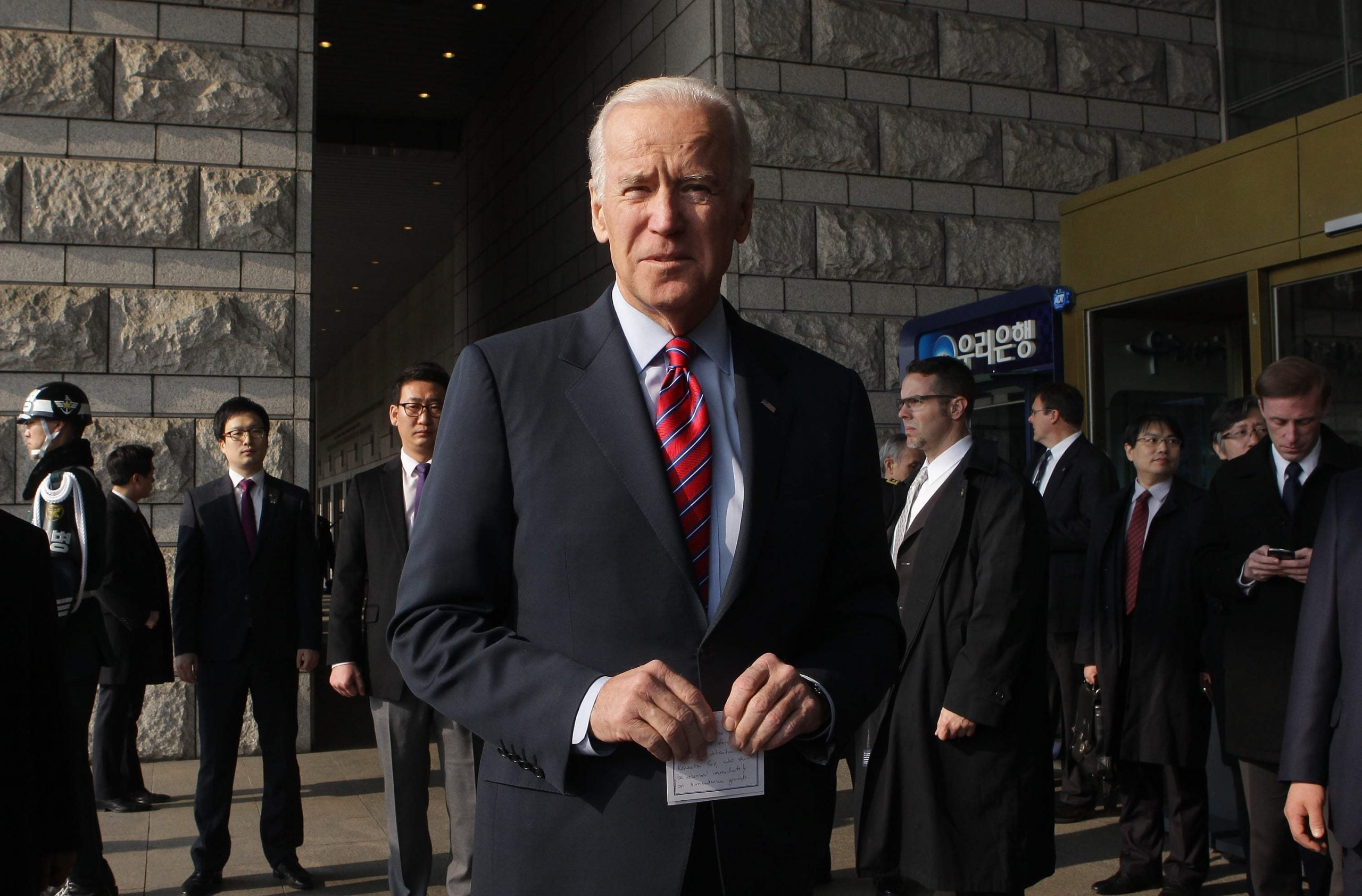 Joe Biden could yet be the one to beat Hillary Clinton