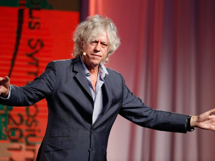 Who knew that The Sopranos's most persuasive fan would be… Bob Geldof?