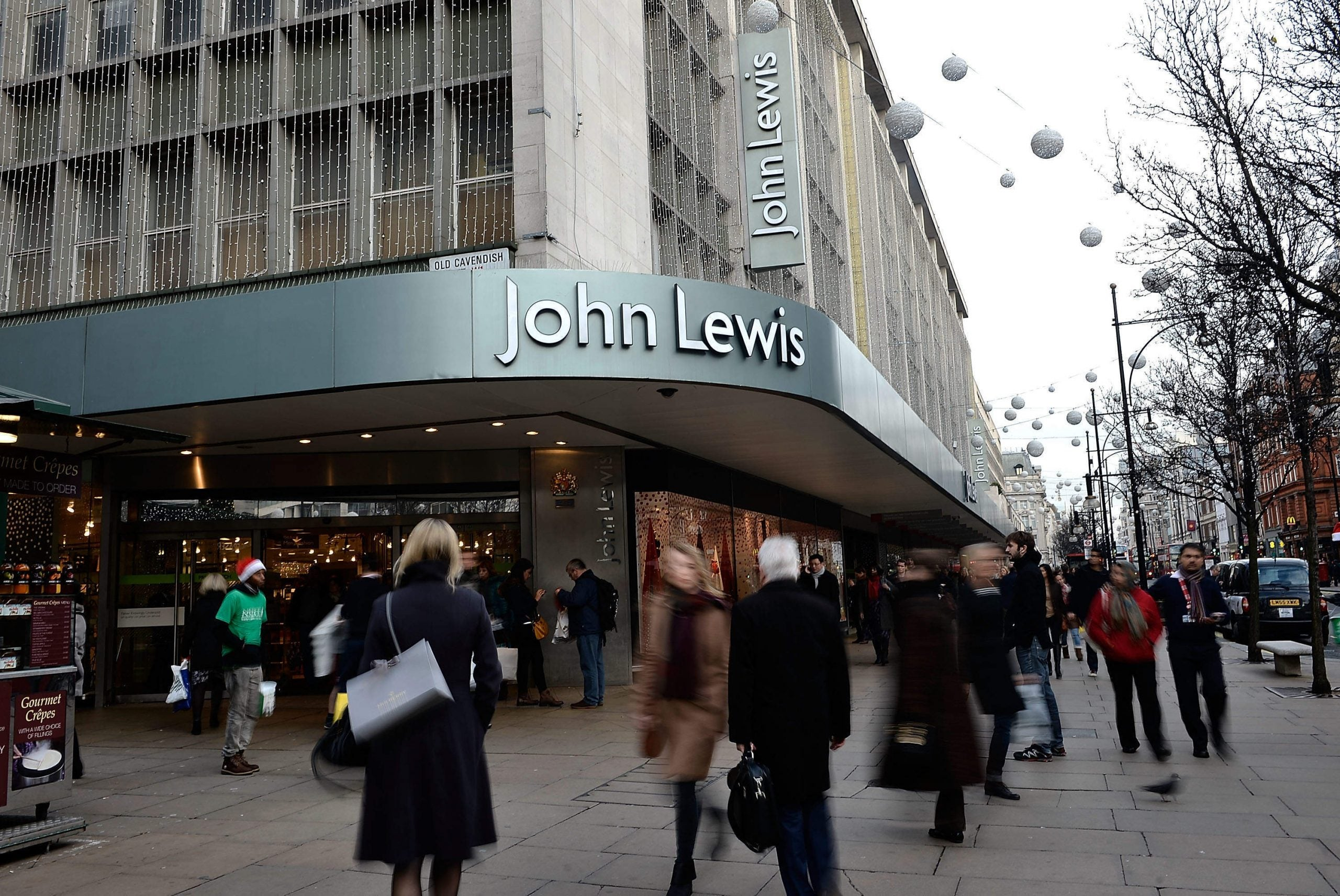 """If only I could wangle a job in the John Lewis menswear department I'd get to say, """"Suits you, sir"""""""