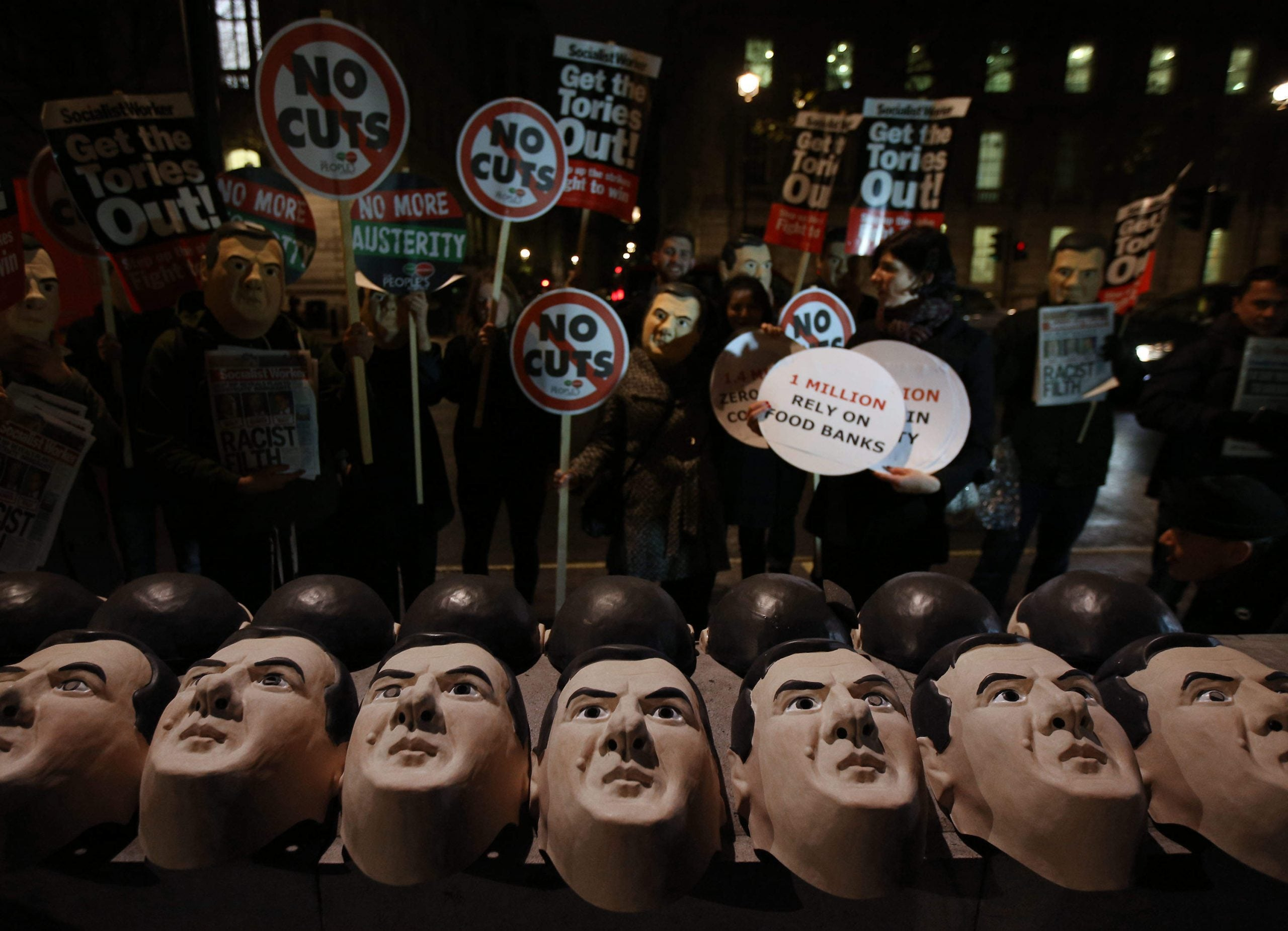The Tories have stopped talking about austerity. That doesn't mean it's gone away