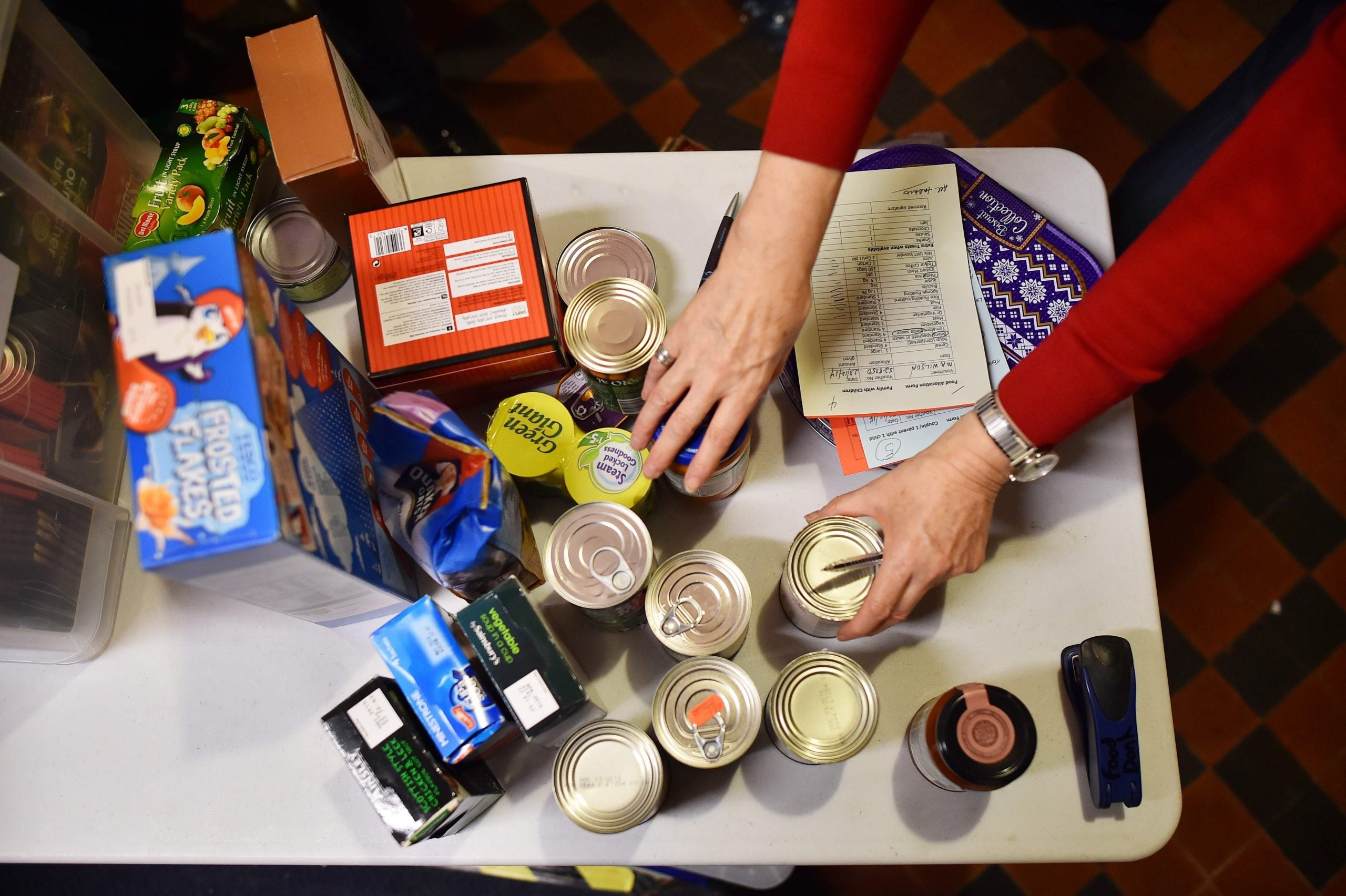There's a hole in the welfare state - and it's too big for food banks to fill