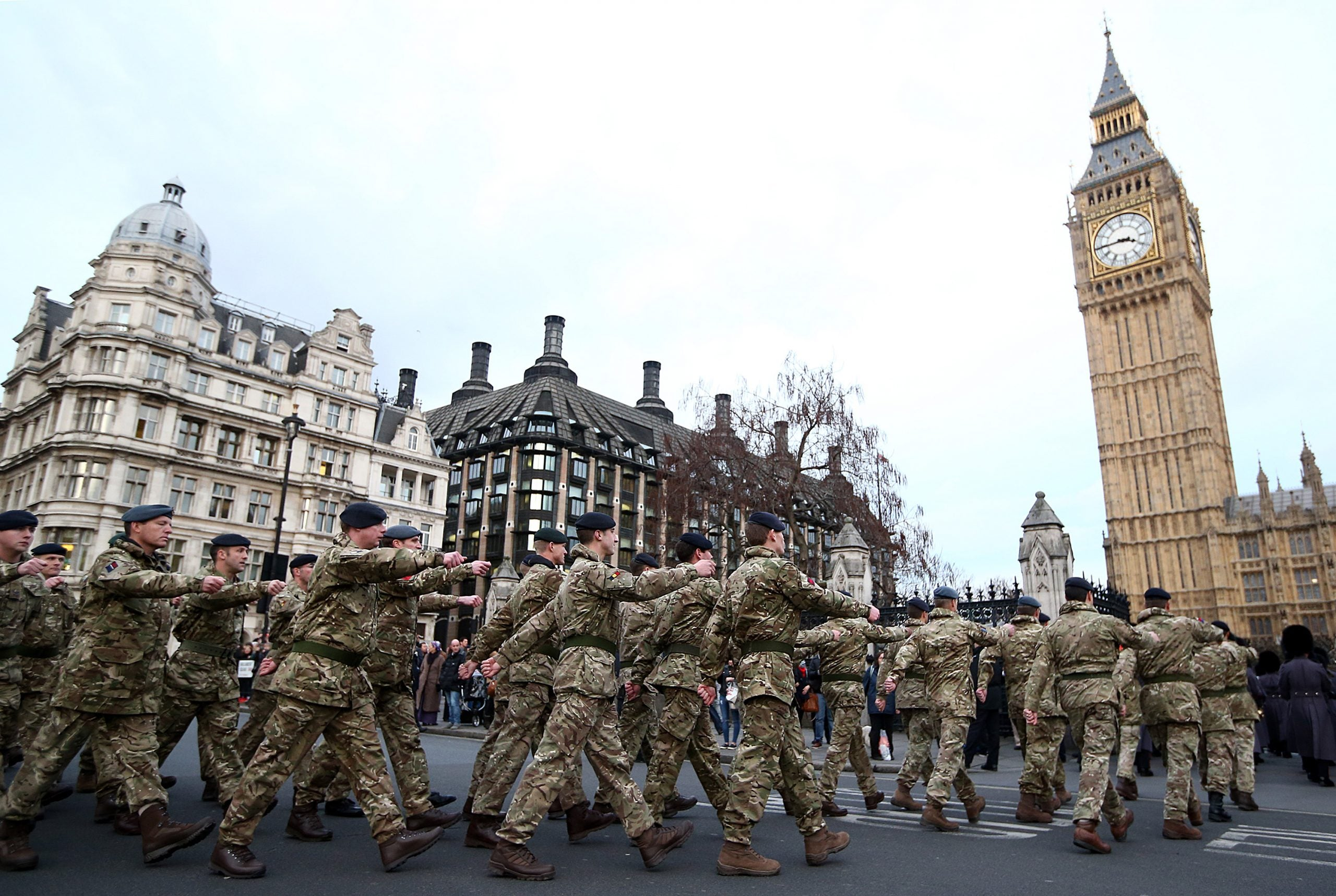 The Tories want a security election – but some military voters are looking to Labour