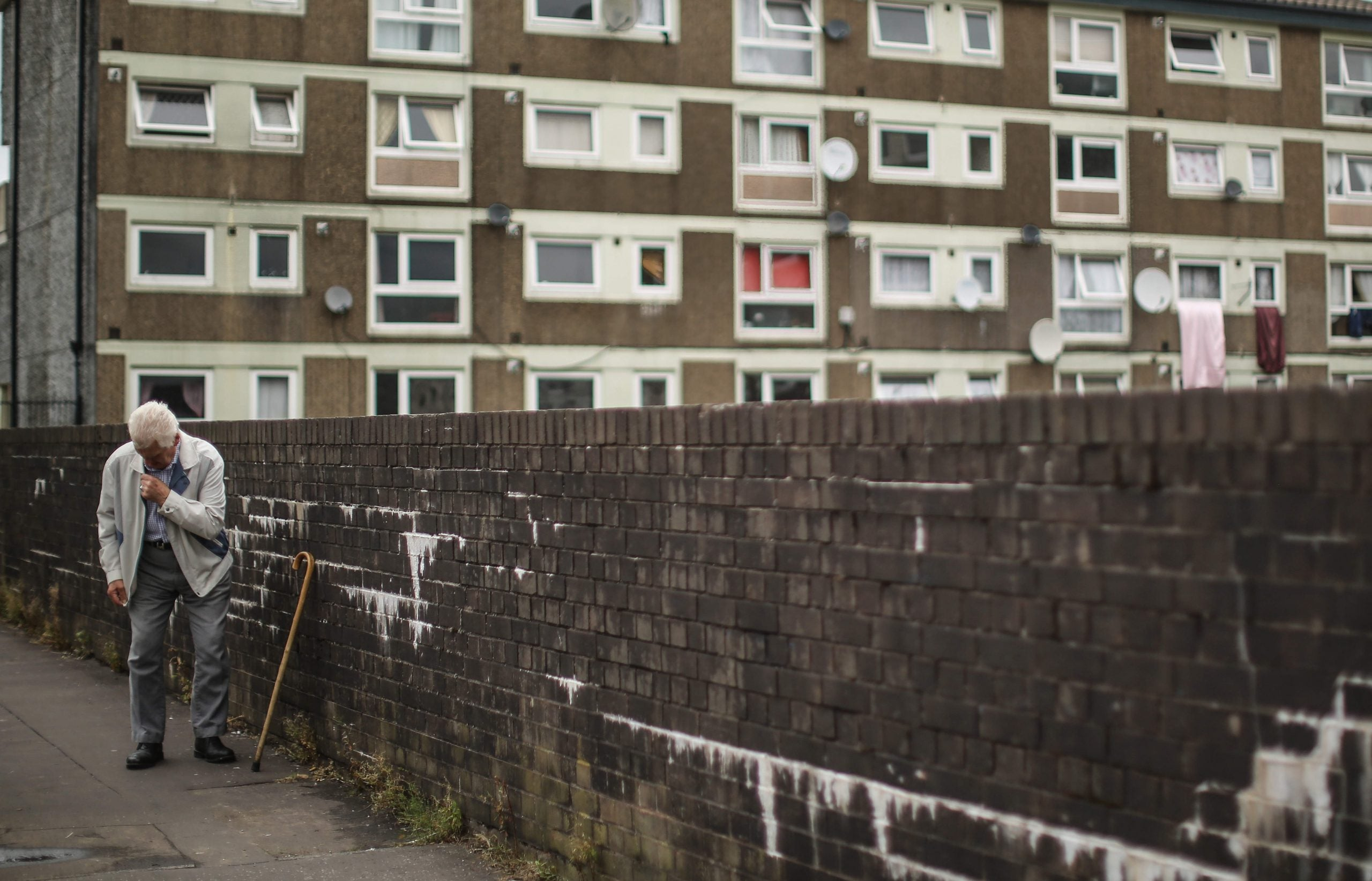 Crumbling Britain: thousands like my elderly aunt suffer as the public realm decays