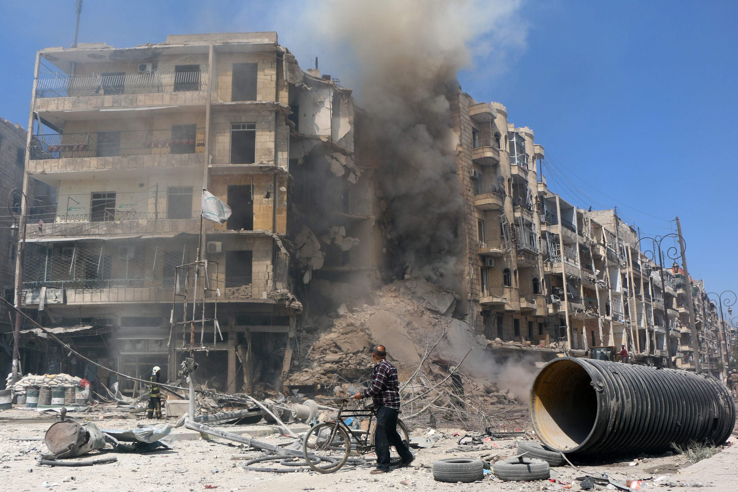 In Aleppo, the buildings are strong – it's the communities that will be hard to rebuild