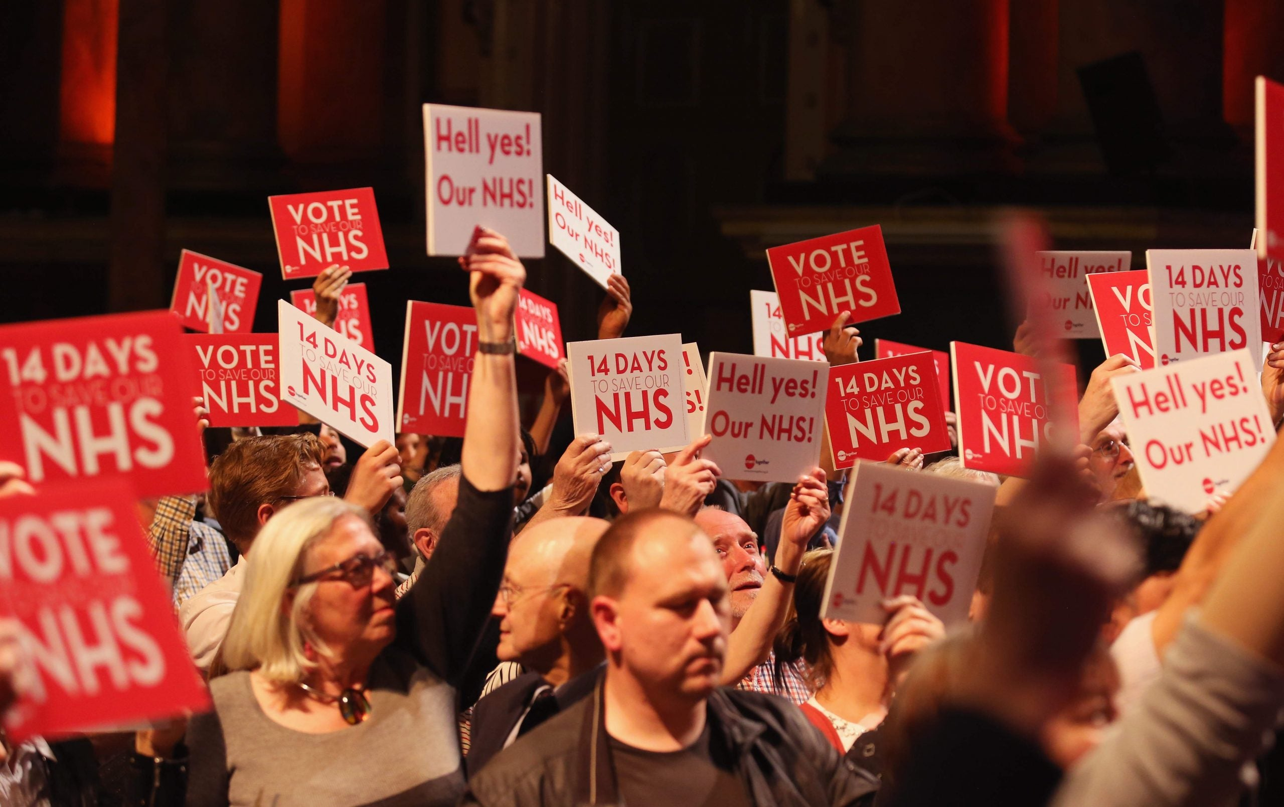 If we want to build a new economy, we have to recognise not everyone can work for the NHS