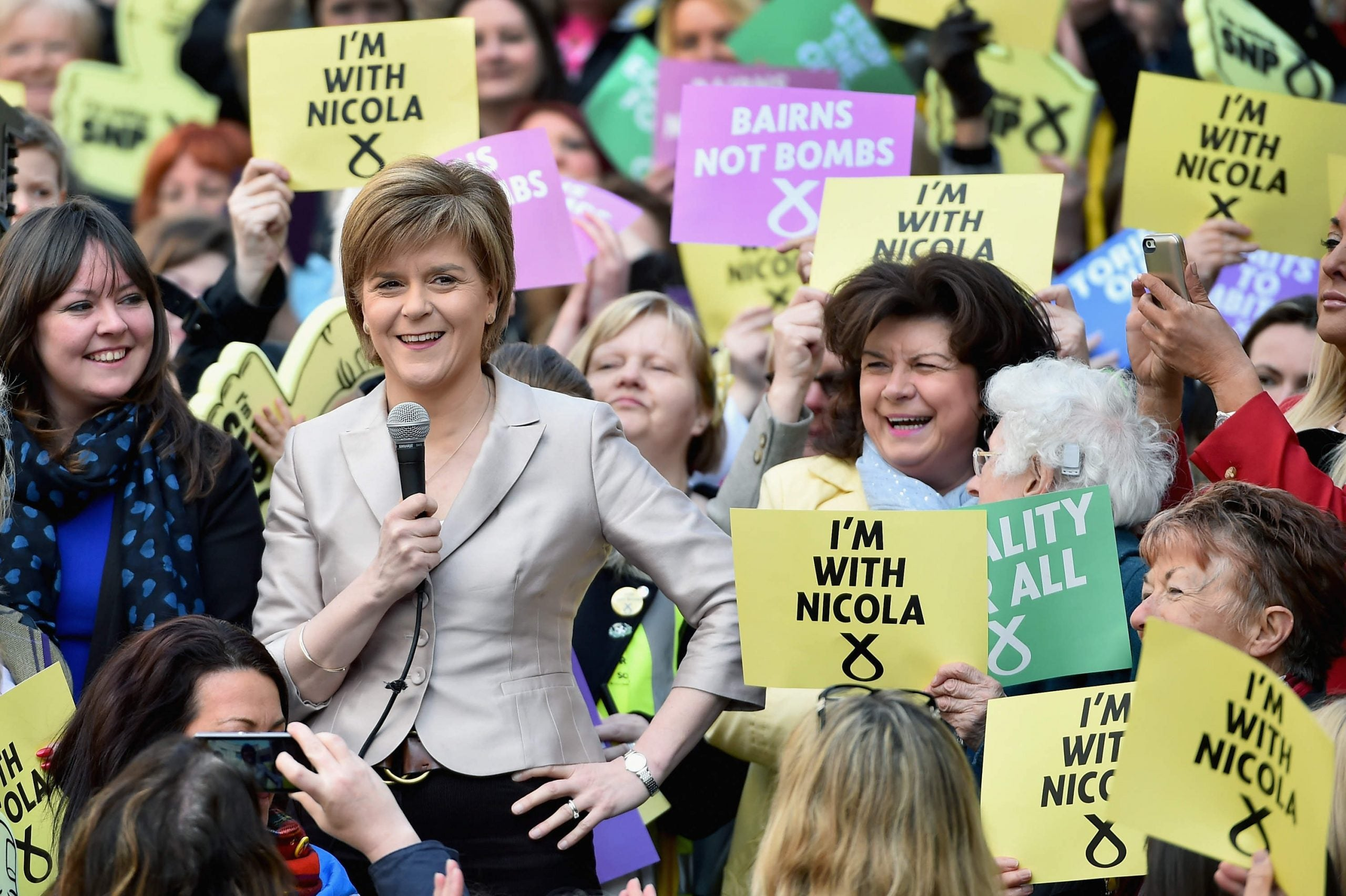 The SNP's plan for the May election is to be the insurgency against its own incumbency