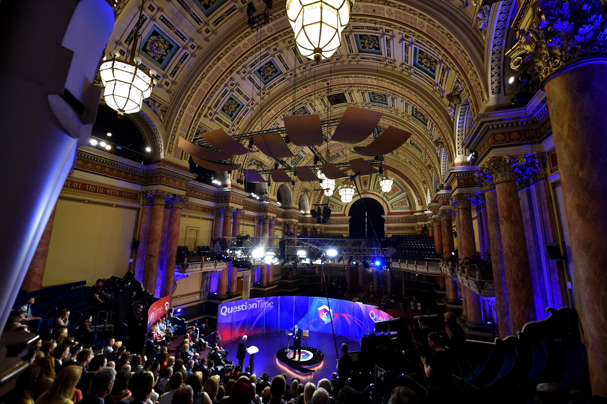 The BBC's Question Time shows how narrow our establishment really is