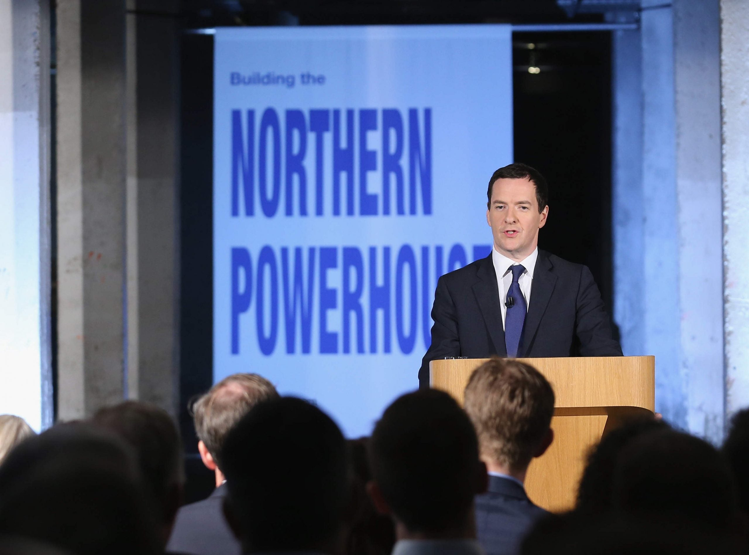 The Conservatives are so committed to the Northern Powerhouse they've moved it to London