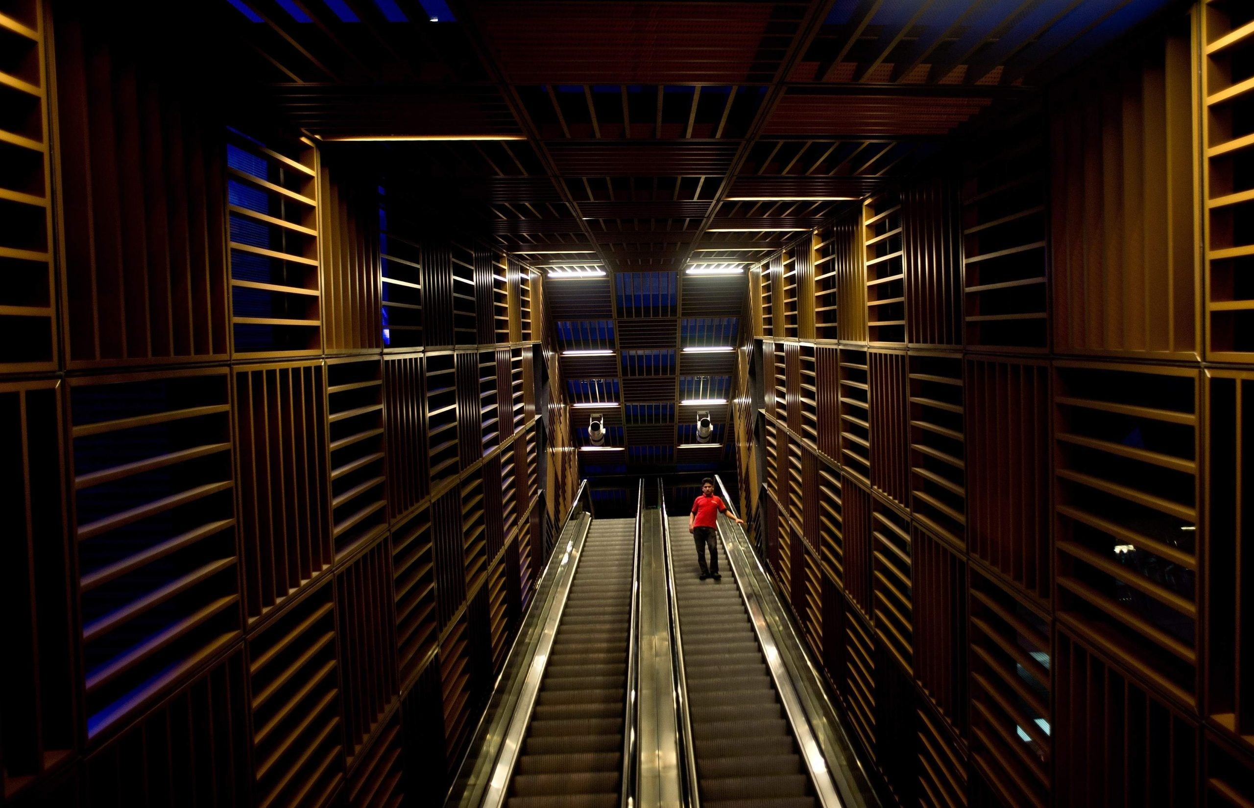 Here's why nothing – and no one – can stop me running up and down escalators