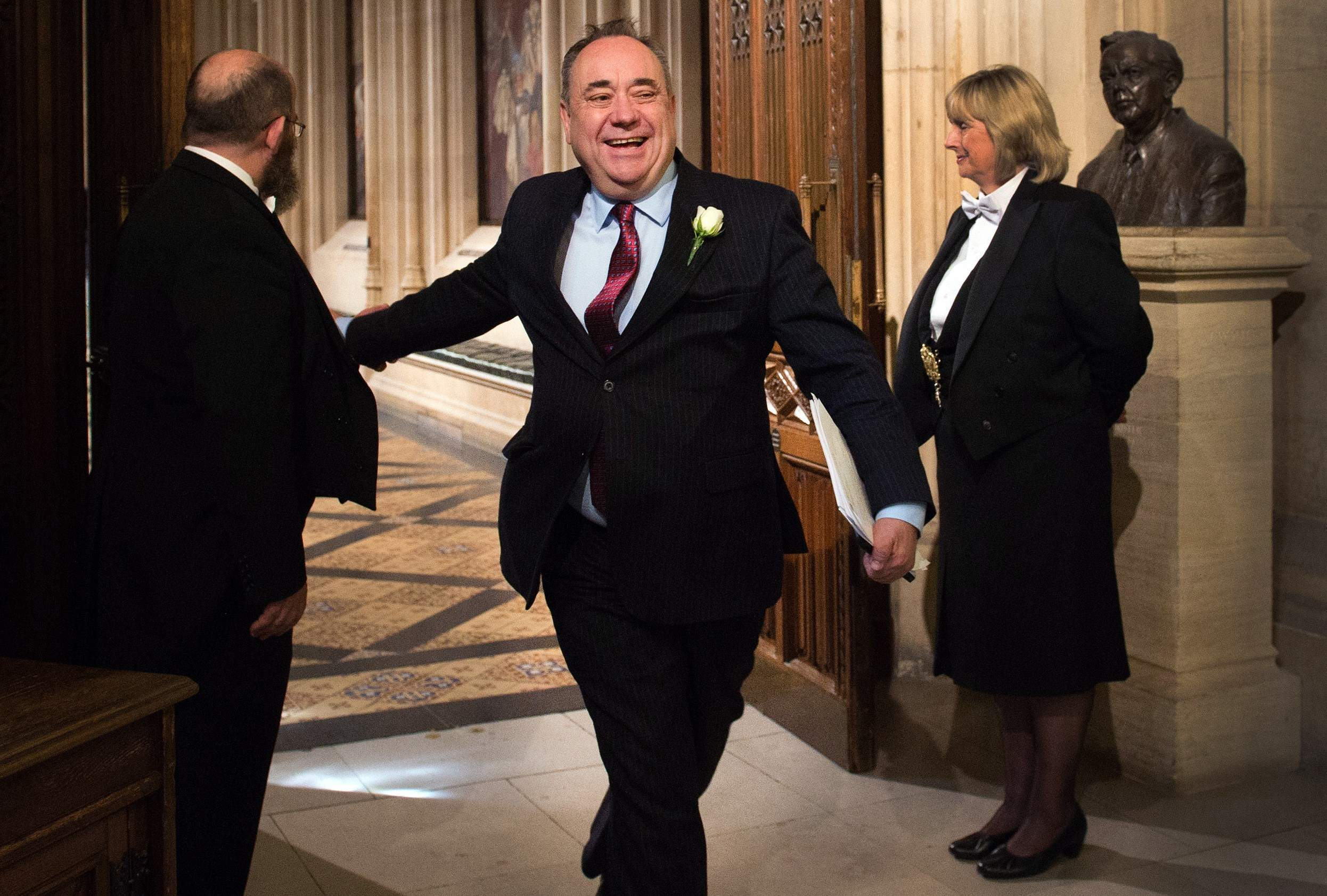 Alex Salmond made the worst joke and I for one feel sorry for him