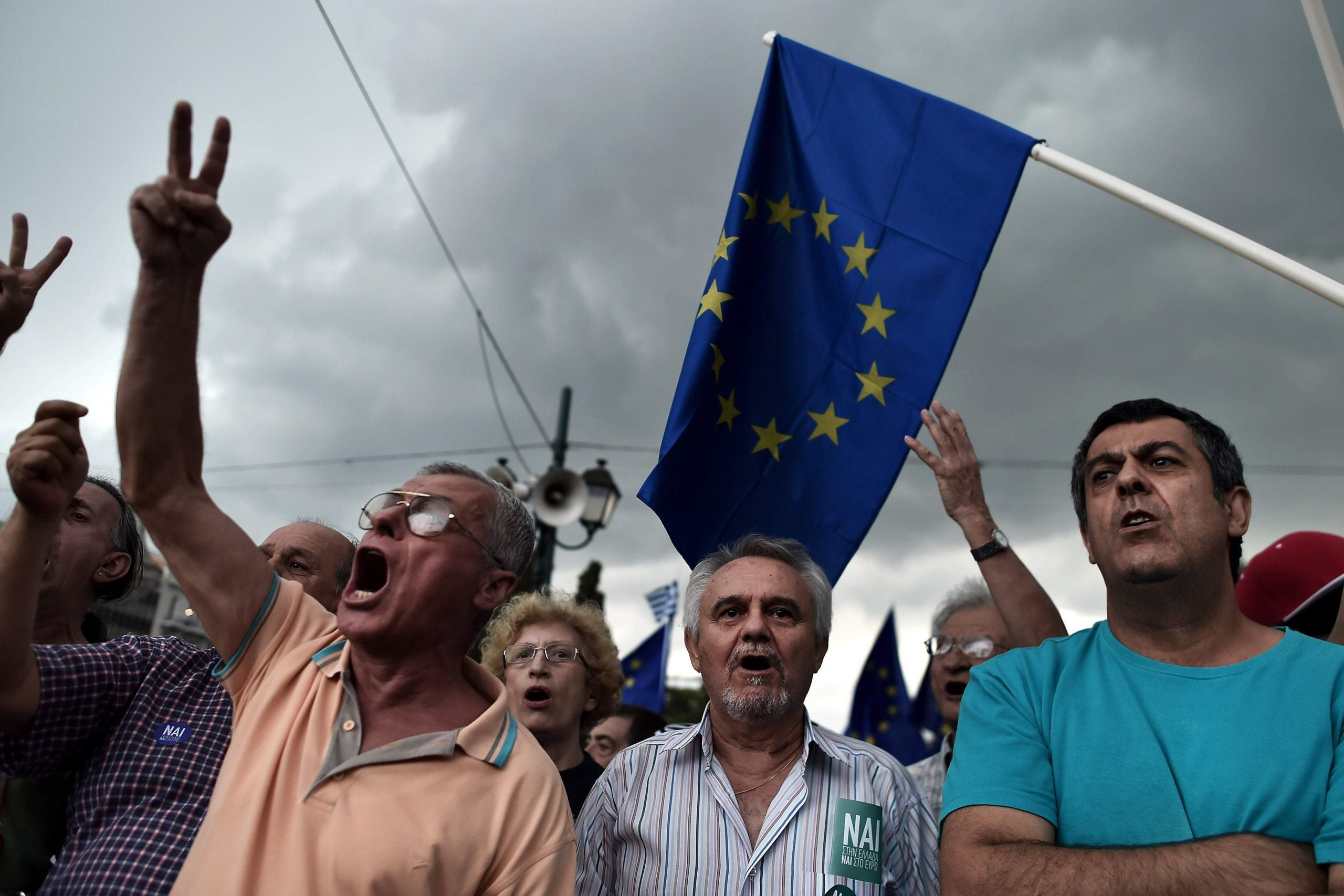 Owen Jones: The elites are determined to end the revolt against austerity in Greece