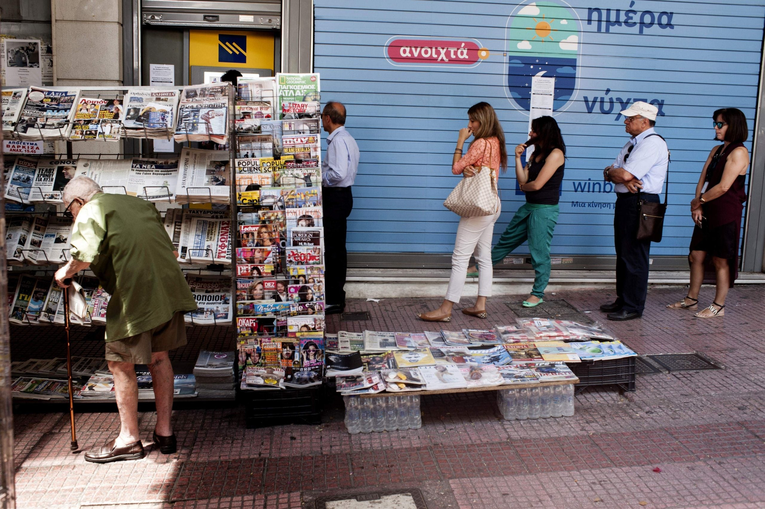 From taxi drivers to surgeons, everyone in Greece is now an expert on the country's debt