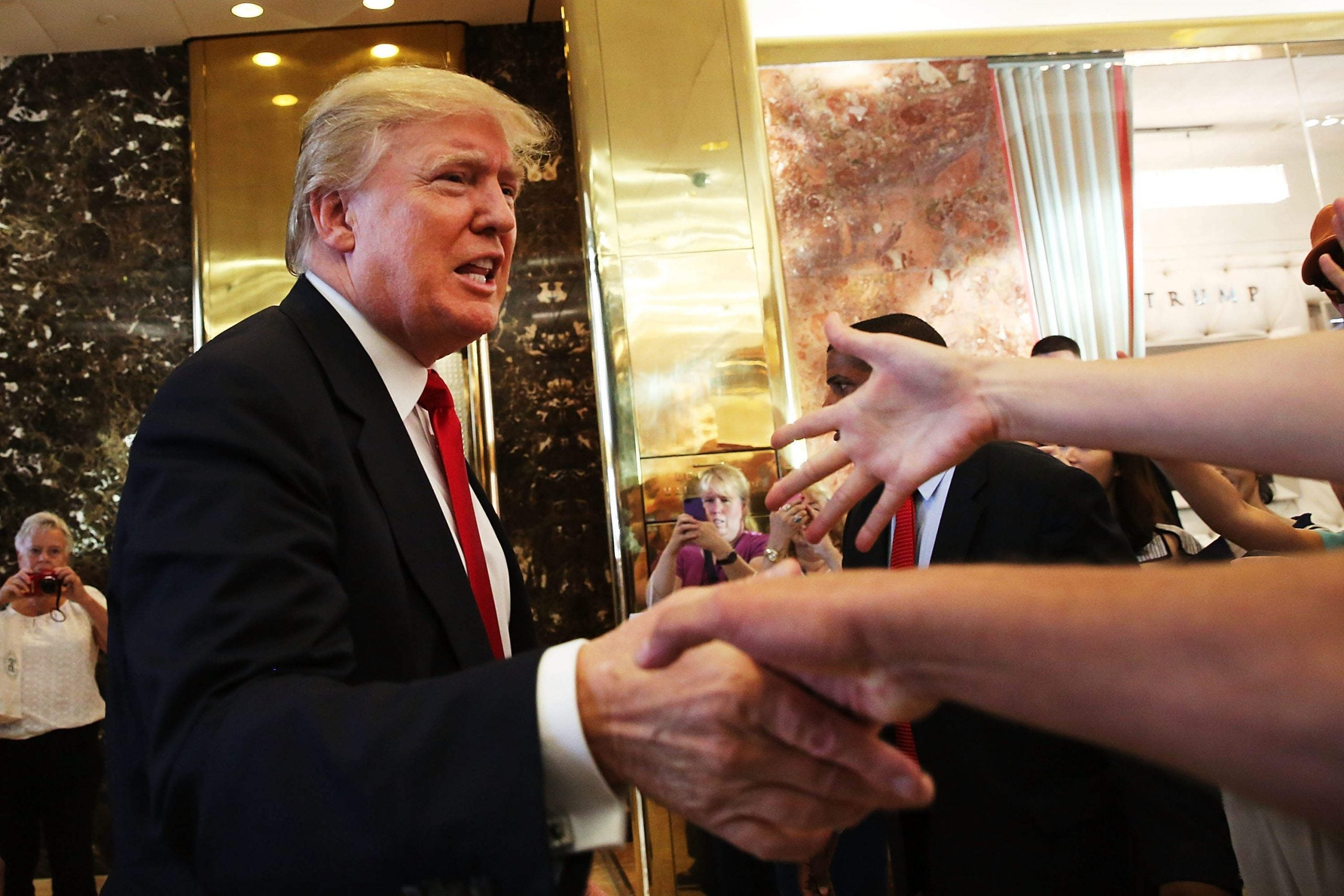 US election 2016: Donald Trump's sleazy fumble for power is damaging democracy