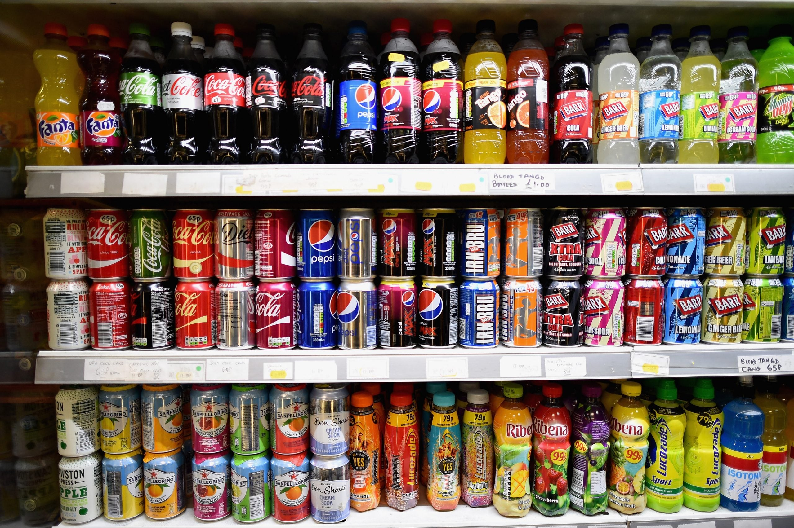I wasn't sure why Alan suffered abdominal pain – but I knew cans of fizzy pop weren't to blame