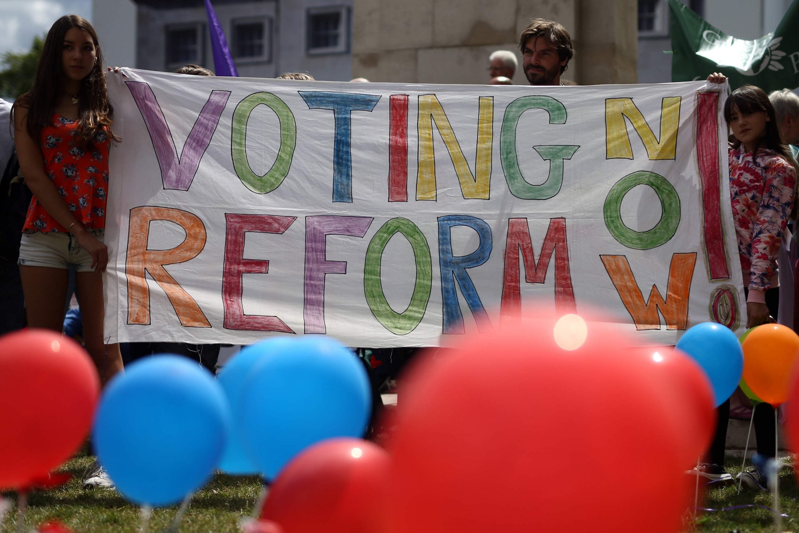 Lowering the voting age is the best way to protect the franchise we've fought so hard for