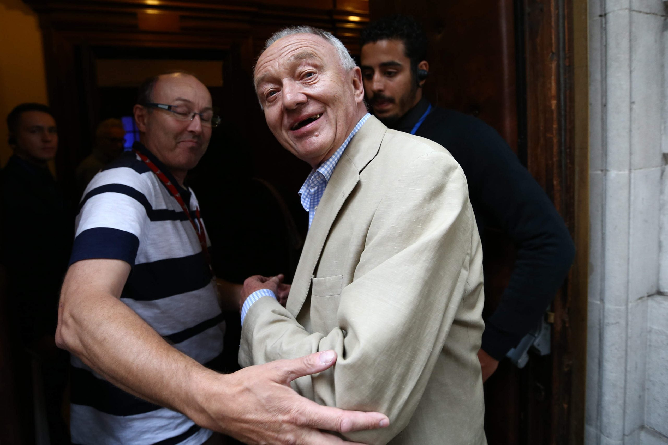 Jeremy Corbyn challenged by Labour MPs to sack Ken Livingstone from defence review