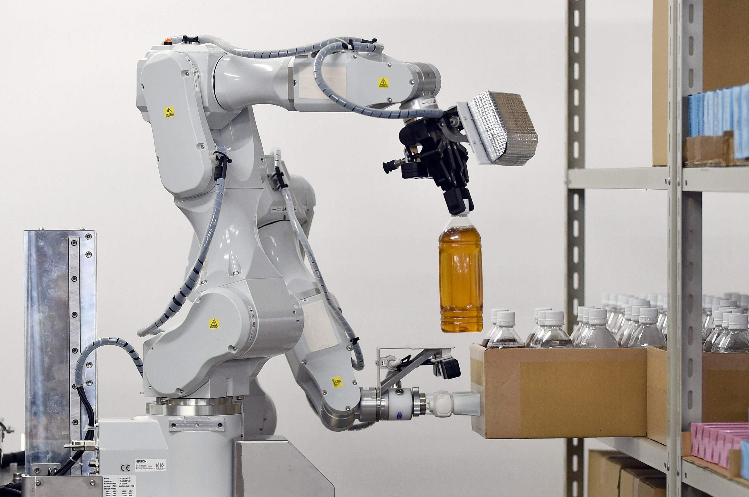 Robots are coming for your job. That might not be bad news