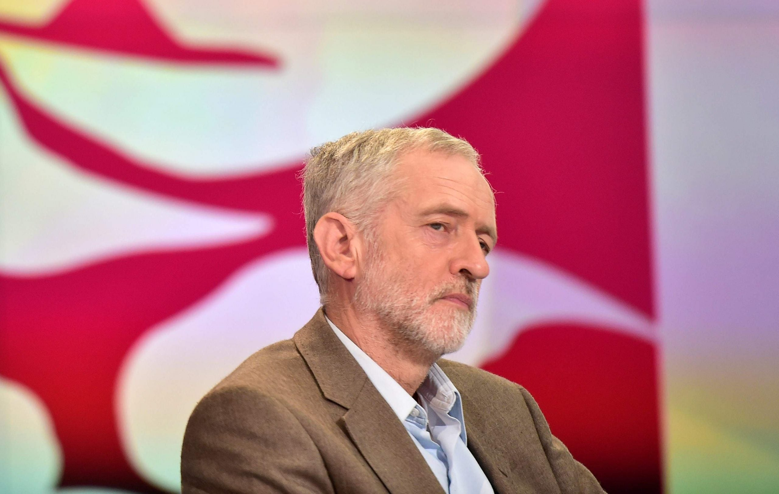 I'm no fan of Jeremy Corbyn, but good on him for keeping quiet during the national anthem