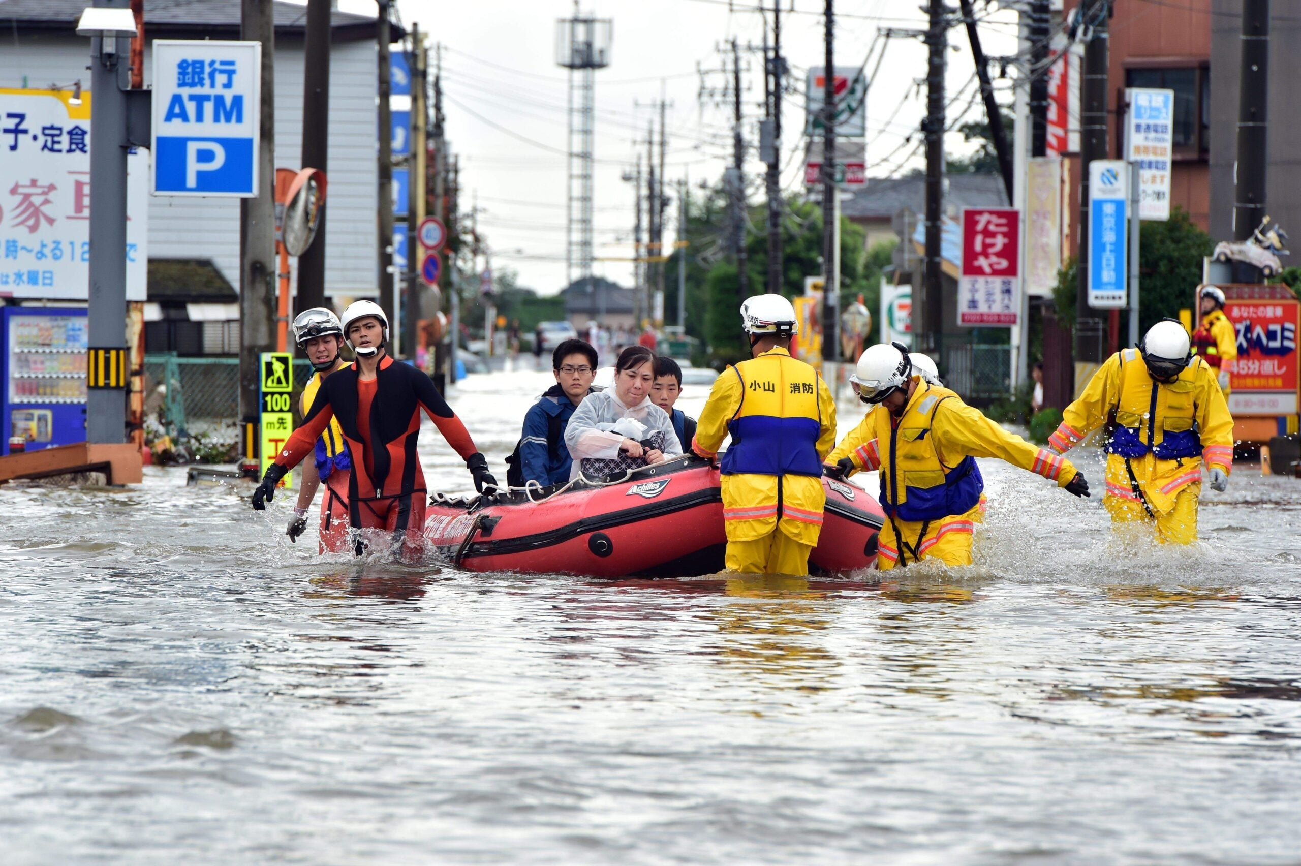 How Japan is preparing for the great flood