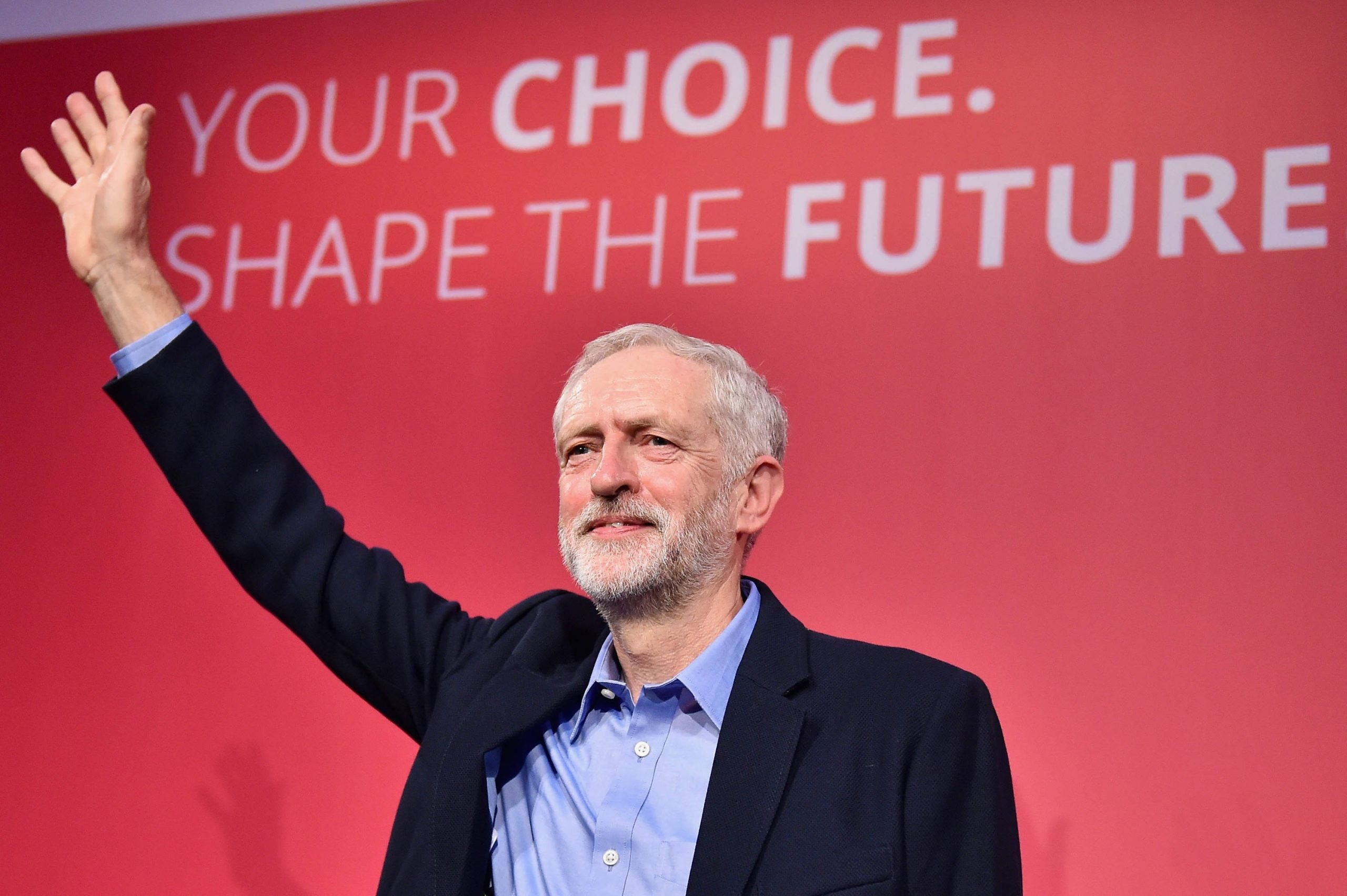 If Jeremy Corbyn is to succeed, he's got to ride the wave
