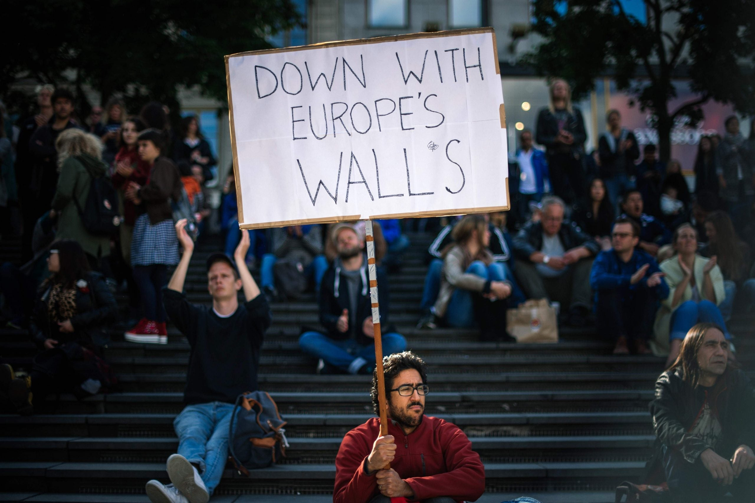 The far right rises as the Nordic welfare model is tested to breaking point by immigration