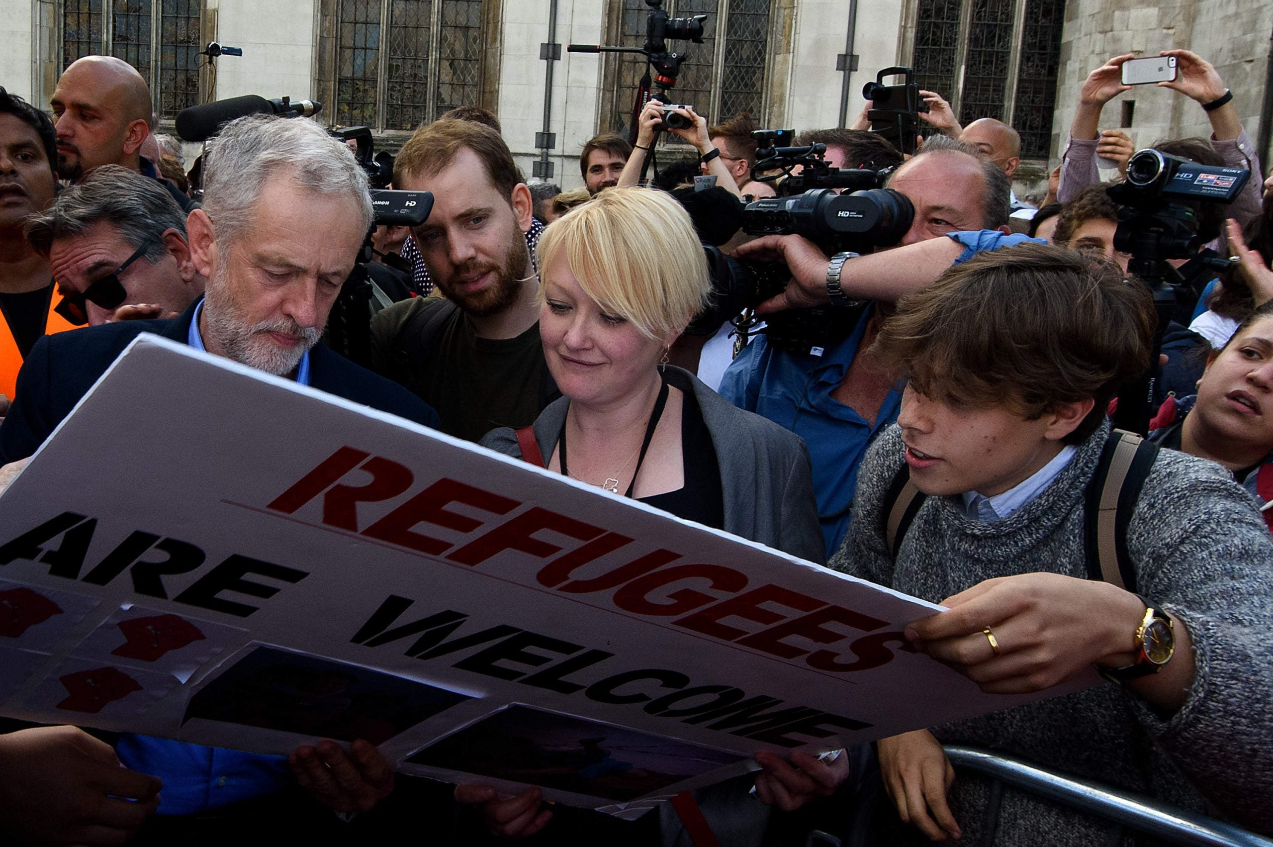 Jeremy Corbyn has given hope to my generation. Please don't let the cynics take it away