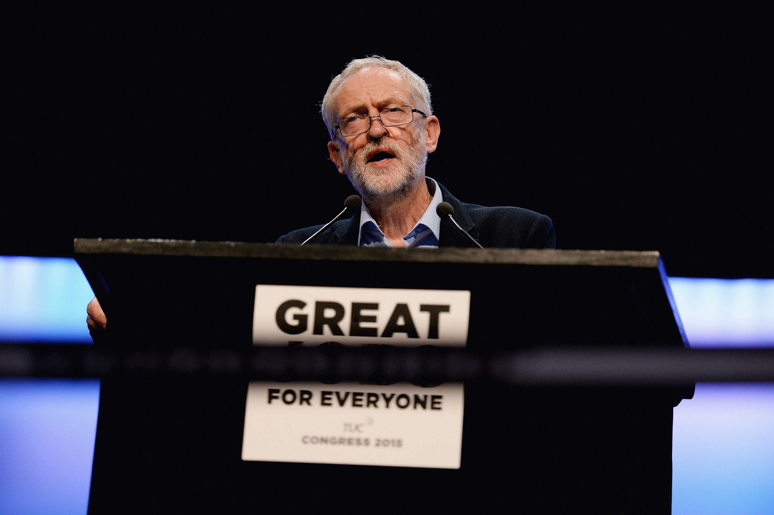 Leader: Corbyn asserts his authority