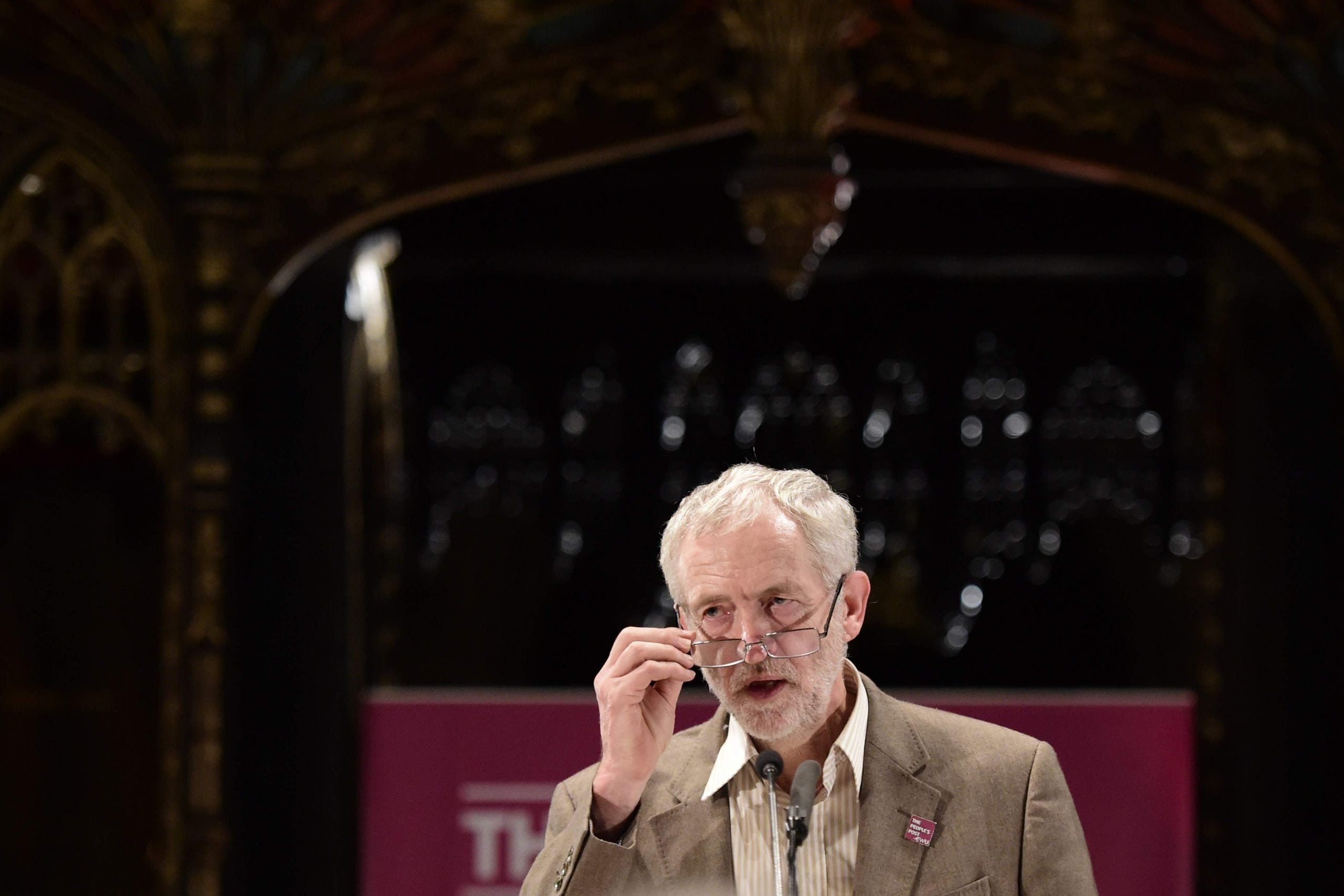 For all the uproar among Labour MPs, Jeremy Corbyn is going nowhere