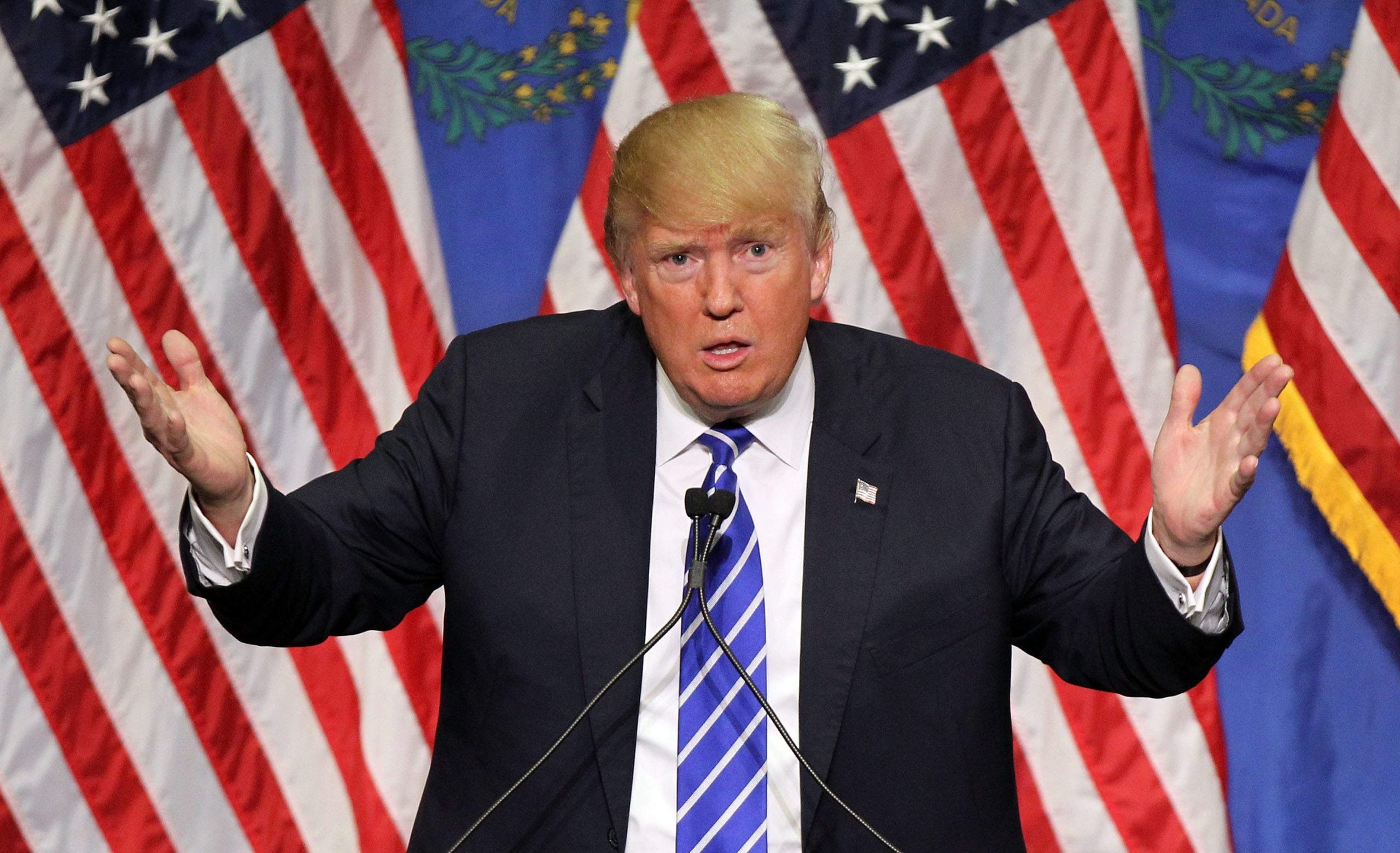 Donald Trump savages the media but without their fawning he would not be president