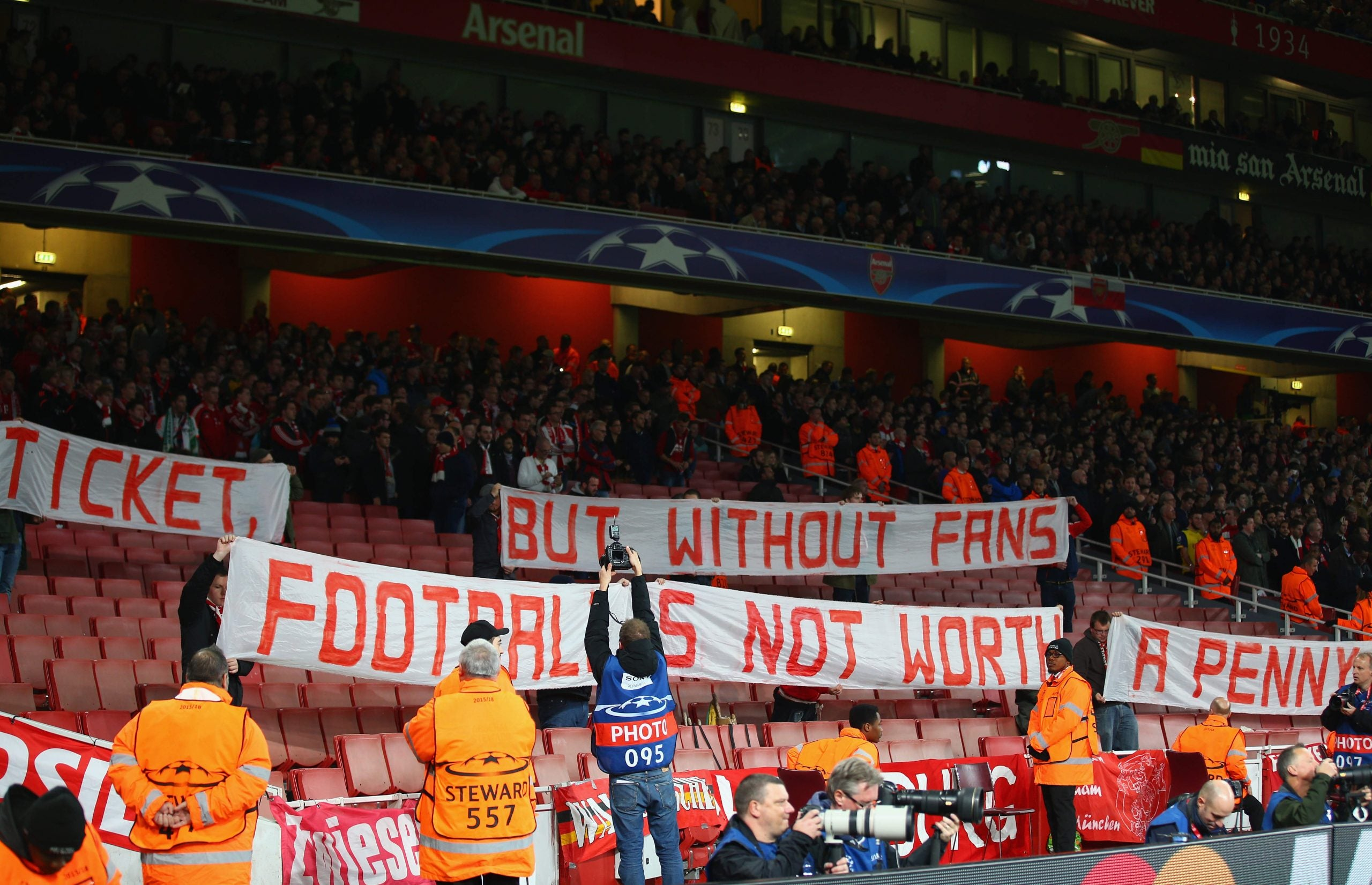 Football needs fans - so go on, make tickets free