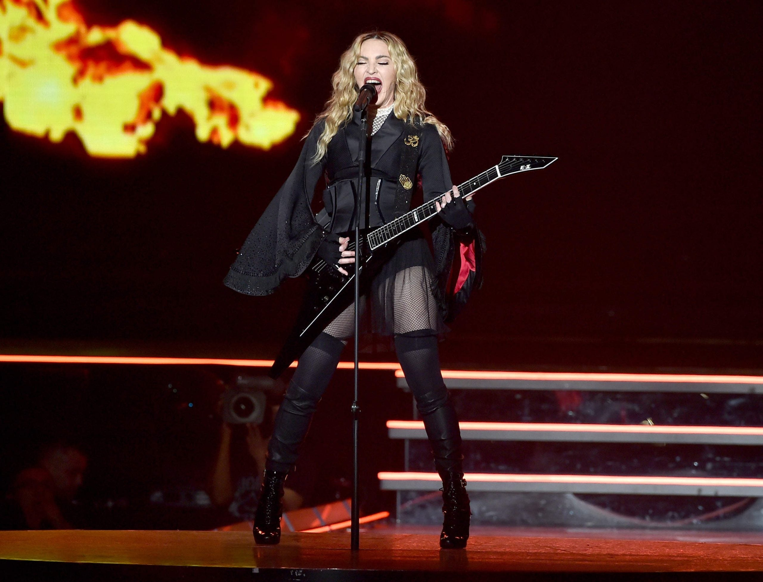My attempt at running disintegrates into a war of words with Madonna