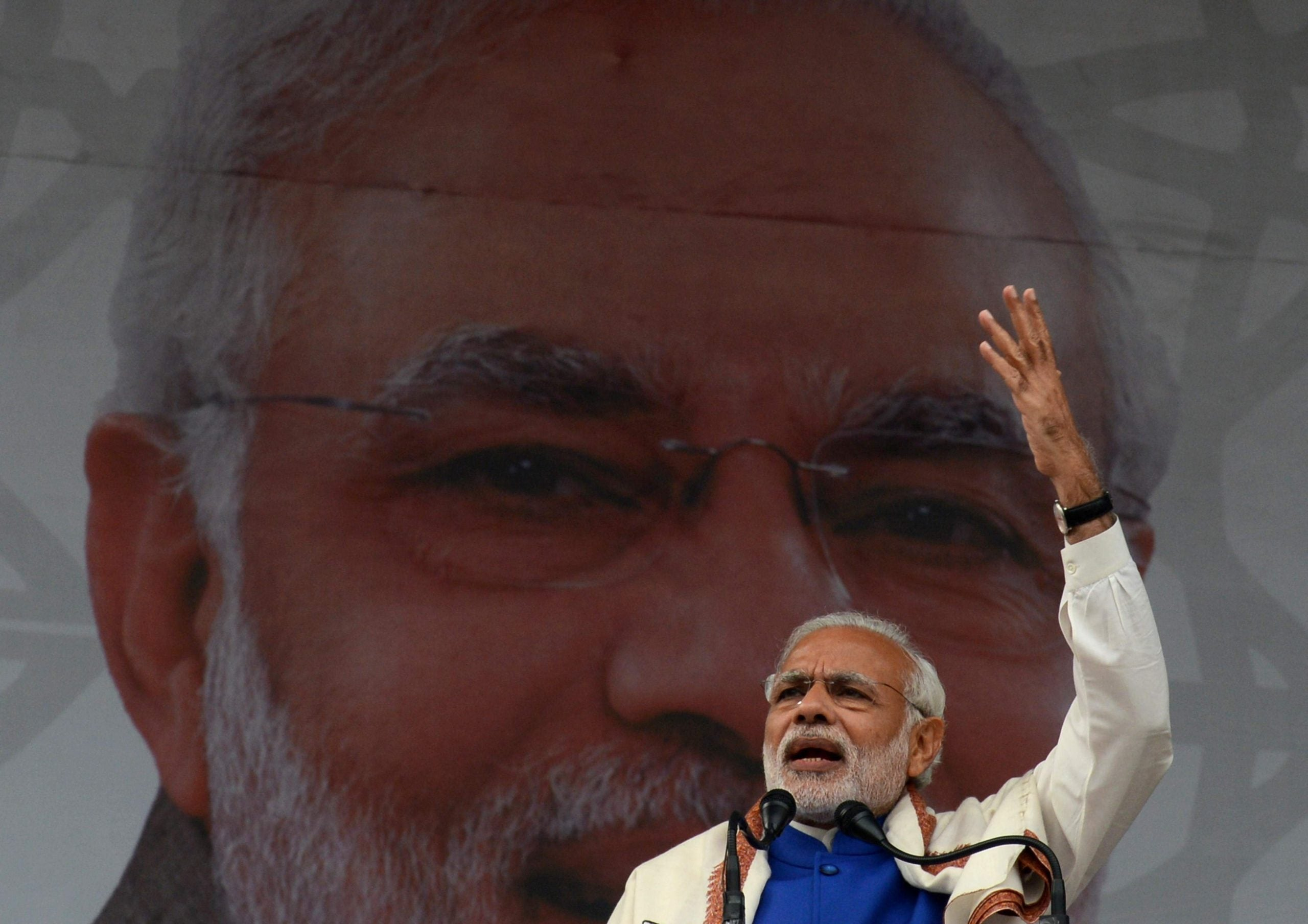 Narendra Modi's visit to Britain is a welcome distraction from problems at home