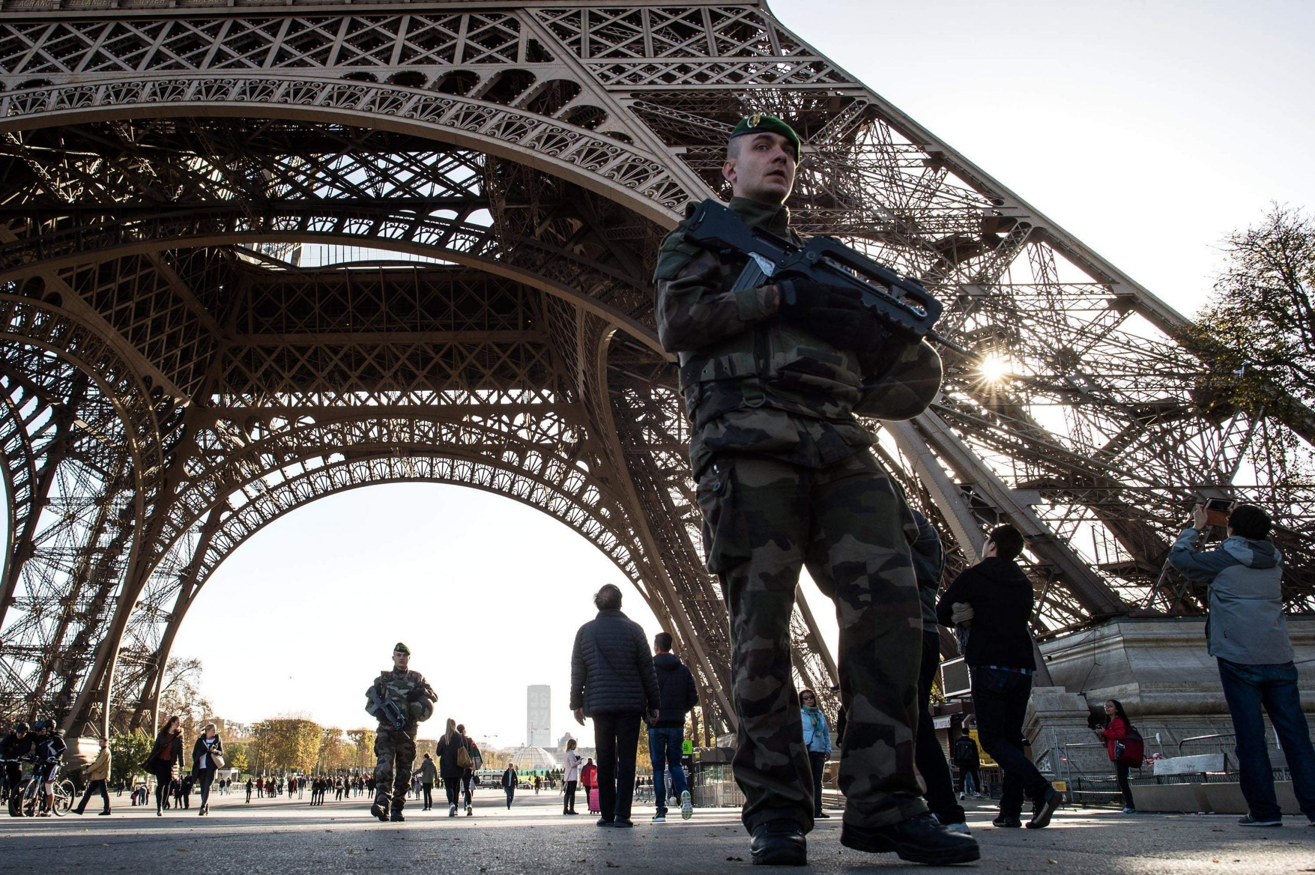 France is changing: an army stalks the streets and Boris Johnson wanders the Tuileries