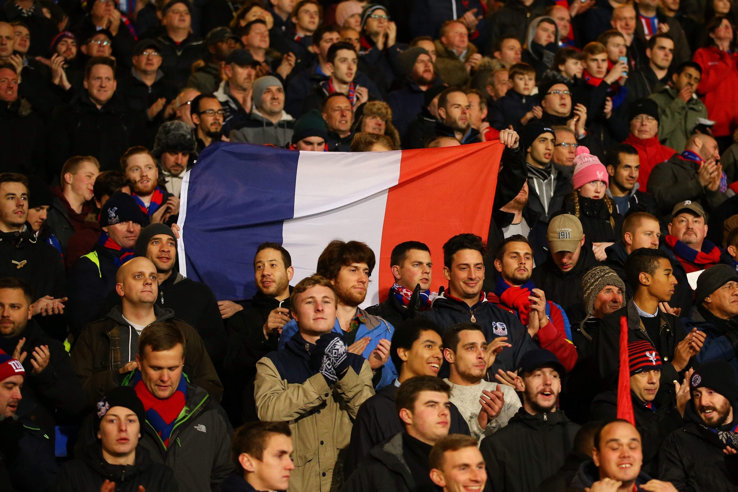 How a dark night for Paris was made easier by British messages of support