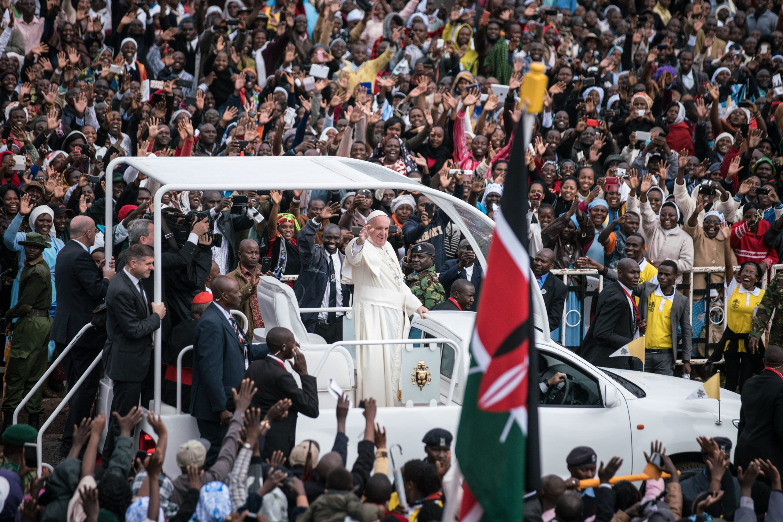 Why the Vatican's refusal to bless same-sex marriage reveals it is placing its future in Africa