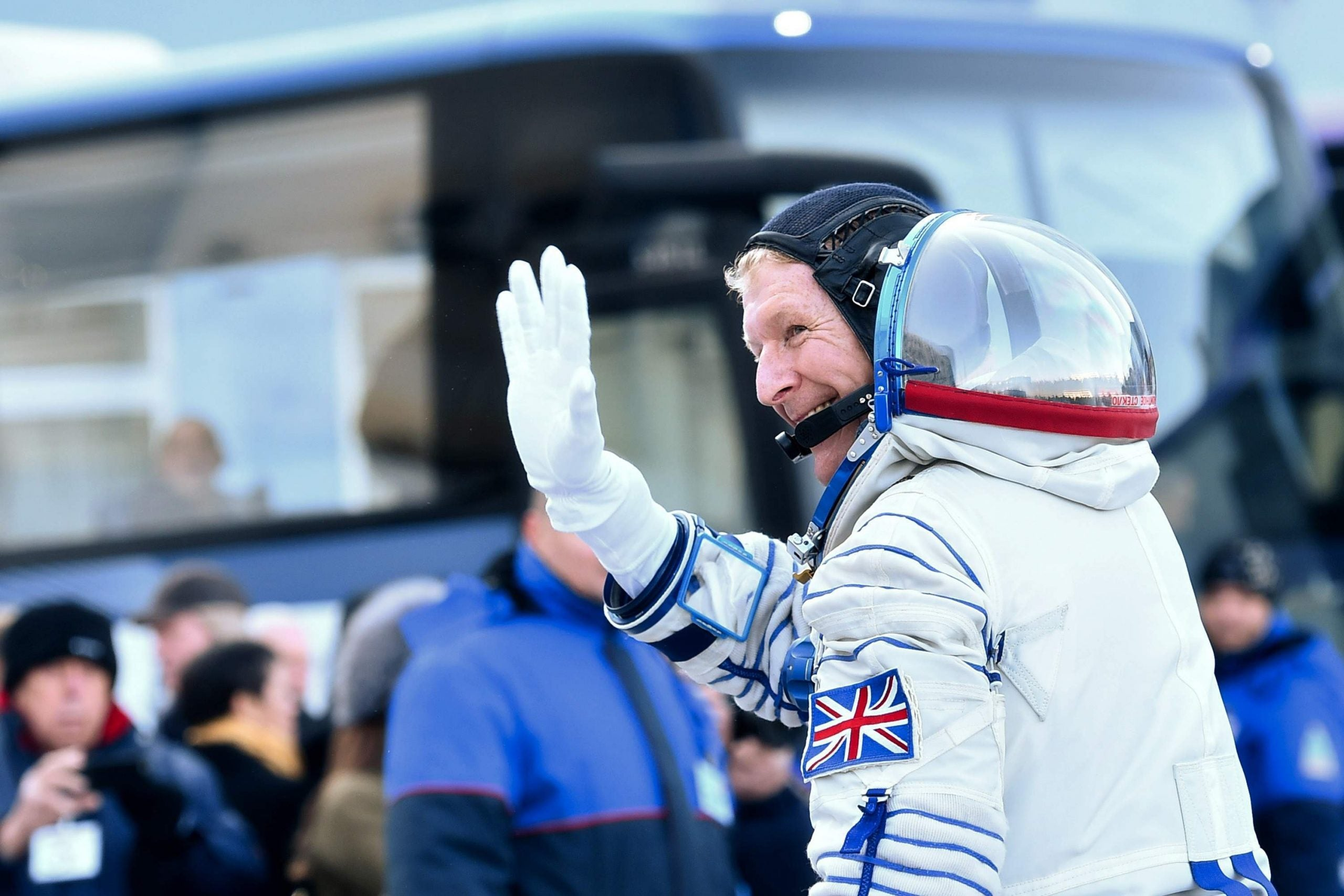 Tim Peake launches Britain and Europe into a new age of discovery