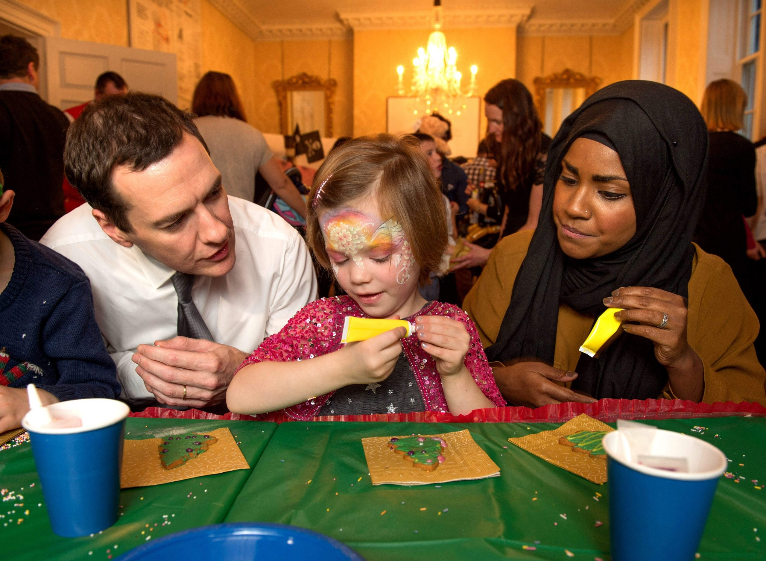 George Osborne likes to talk about the economy as a family. But what type of family?